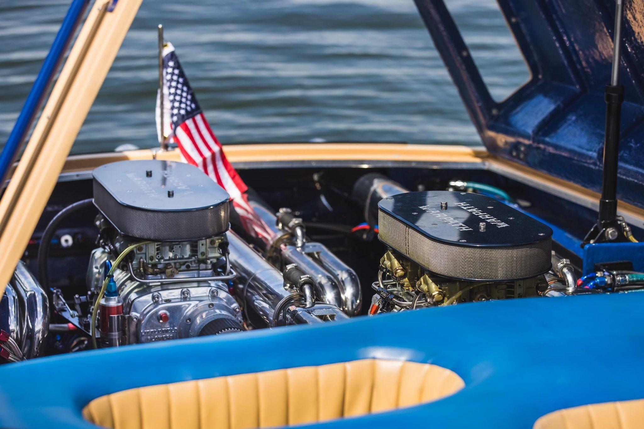 1984 Apache Offshore Powerboat Warpath engine