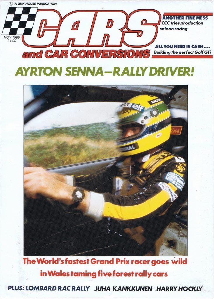 Ayrton Senna Cars and Car Conversions cover