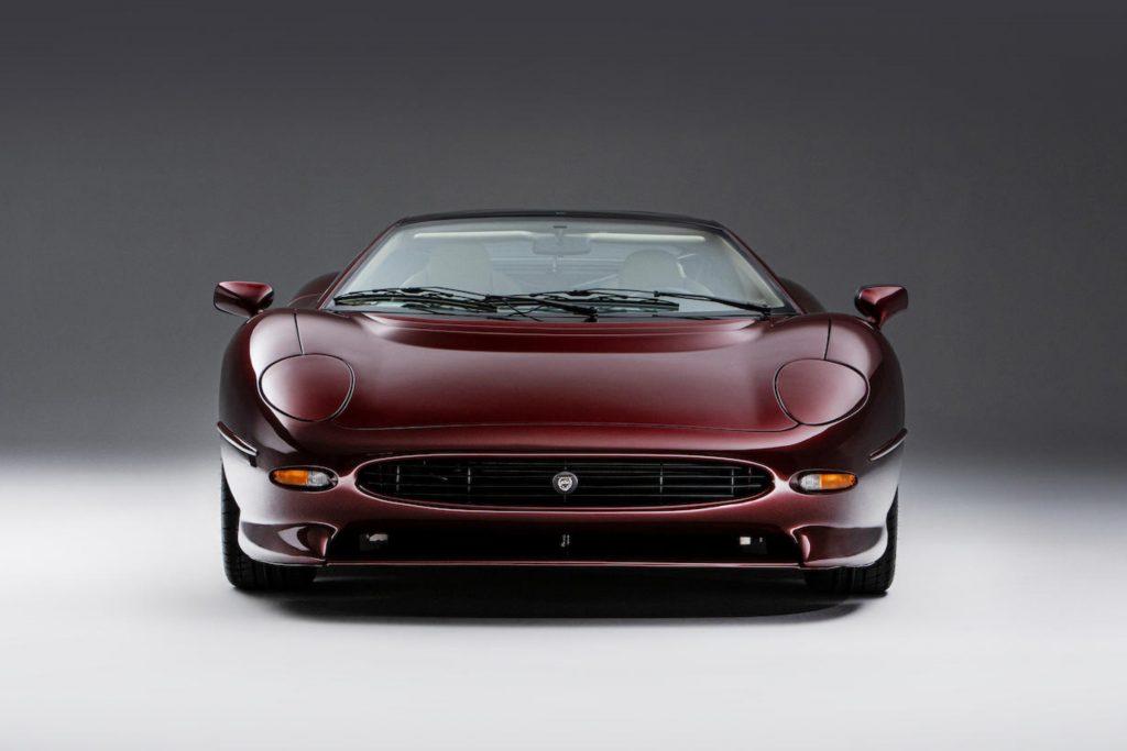 jaguar d type front studio