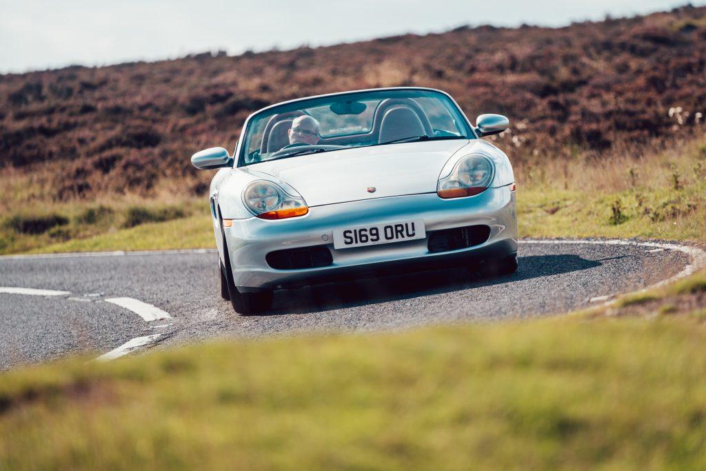 1998 Porsche Boxster 986 front action