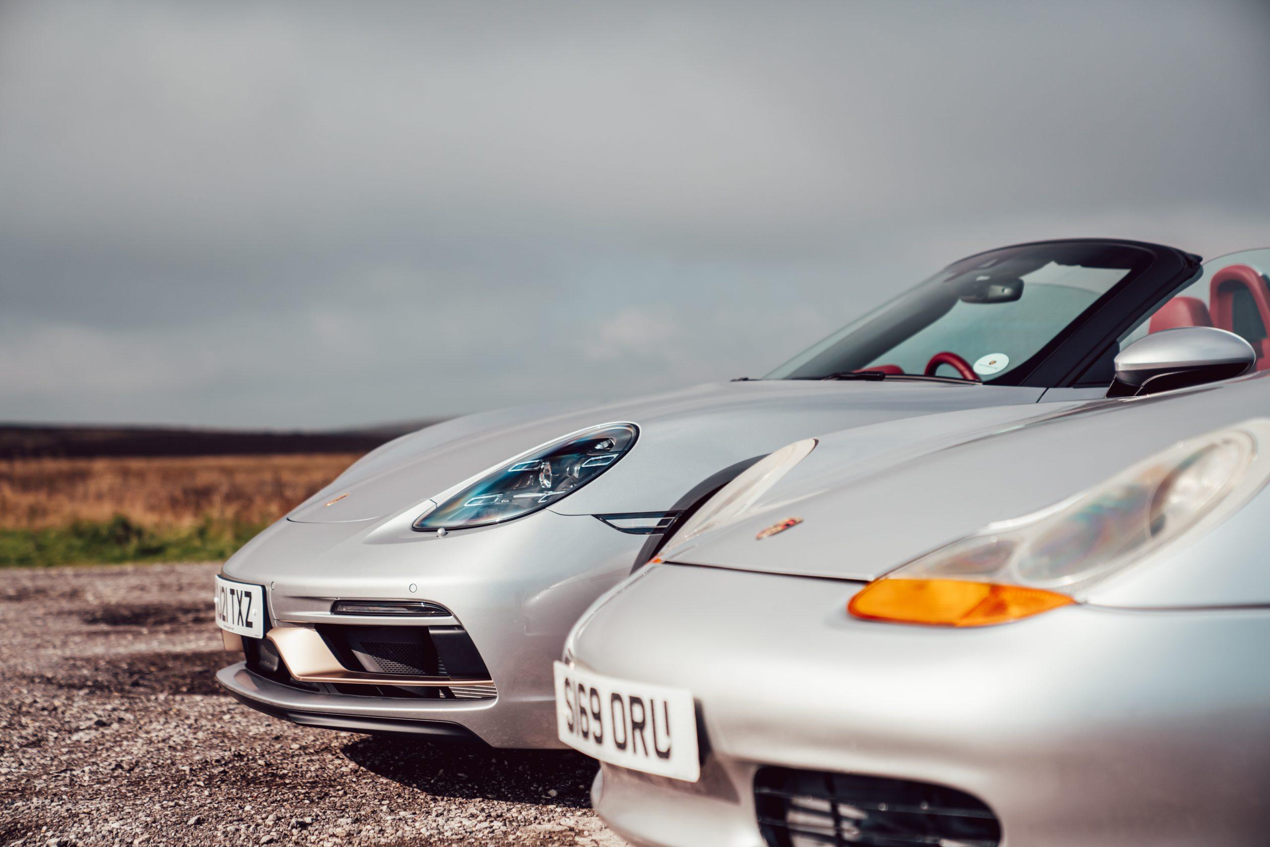 Porsche Boxster front ends