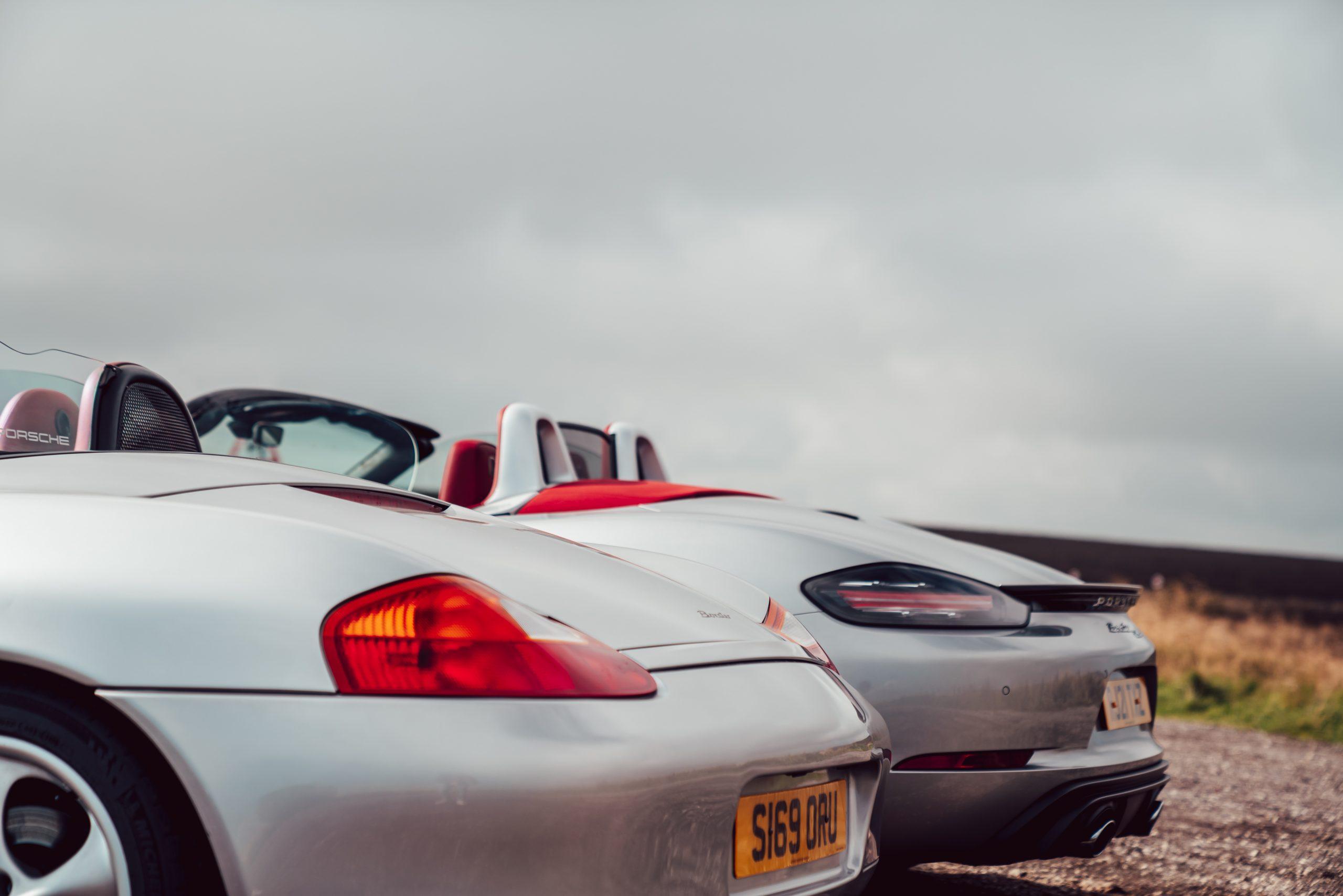 Porsche Boxster rear ends