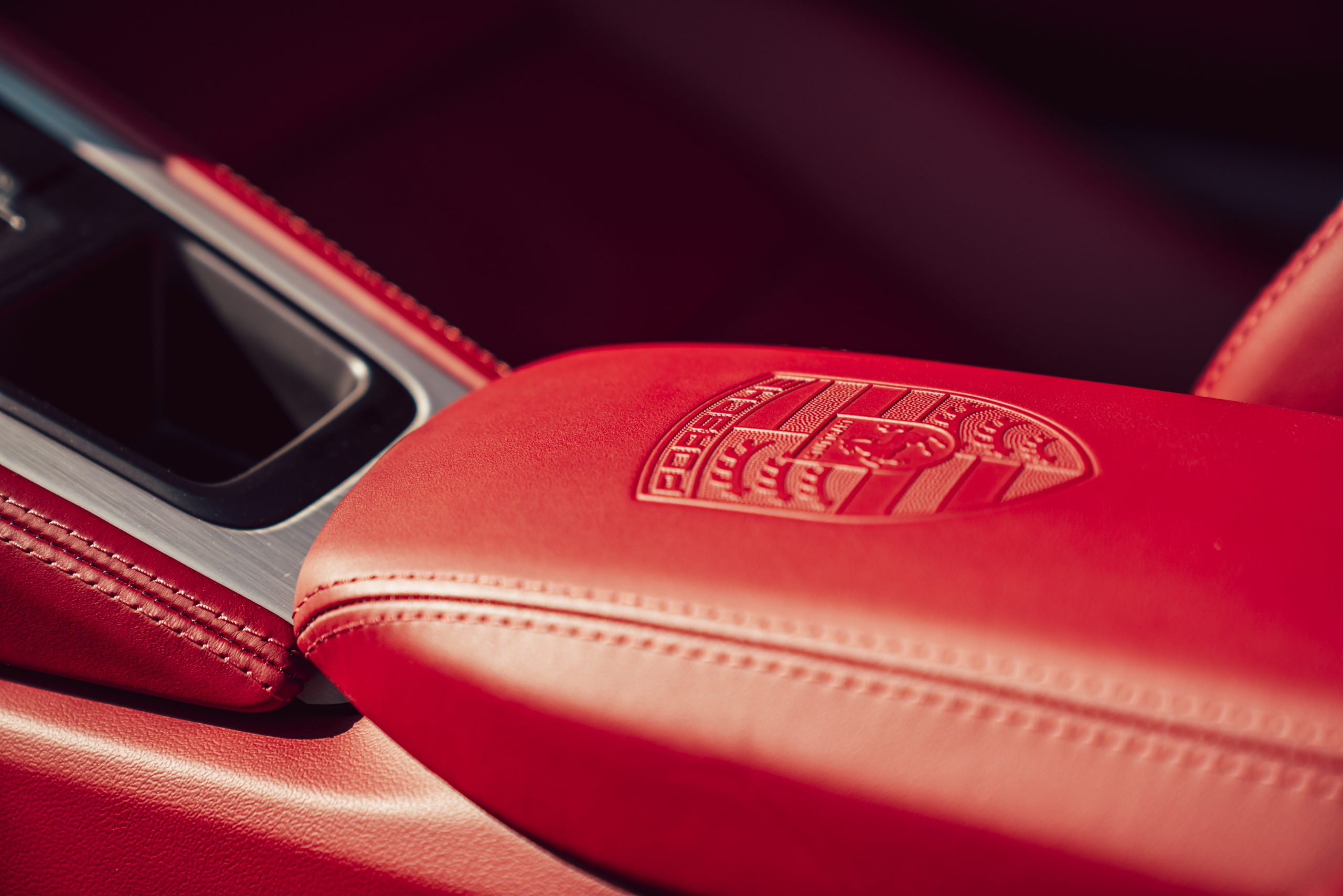 2021 Porsche Boxster 25 Years interior center console detail