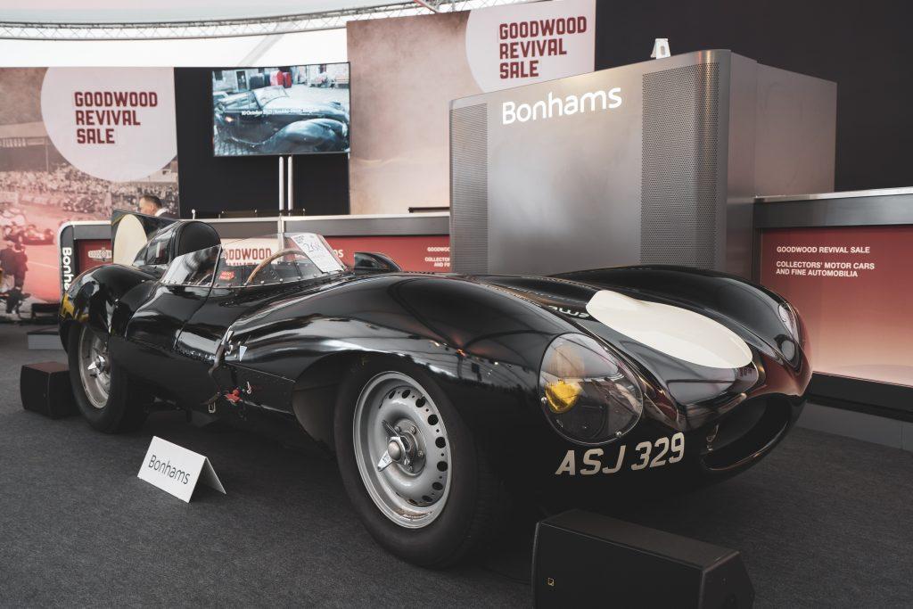 Jaguar D-Type Goodwood Revival Sale Bonhams 2021