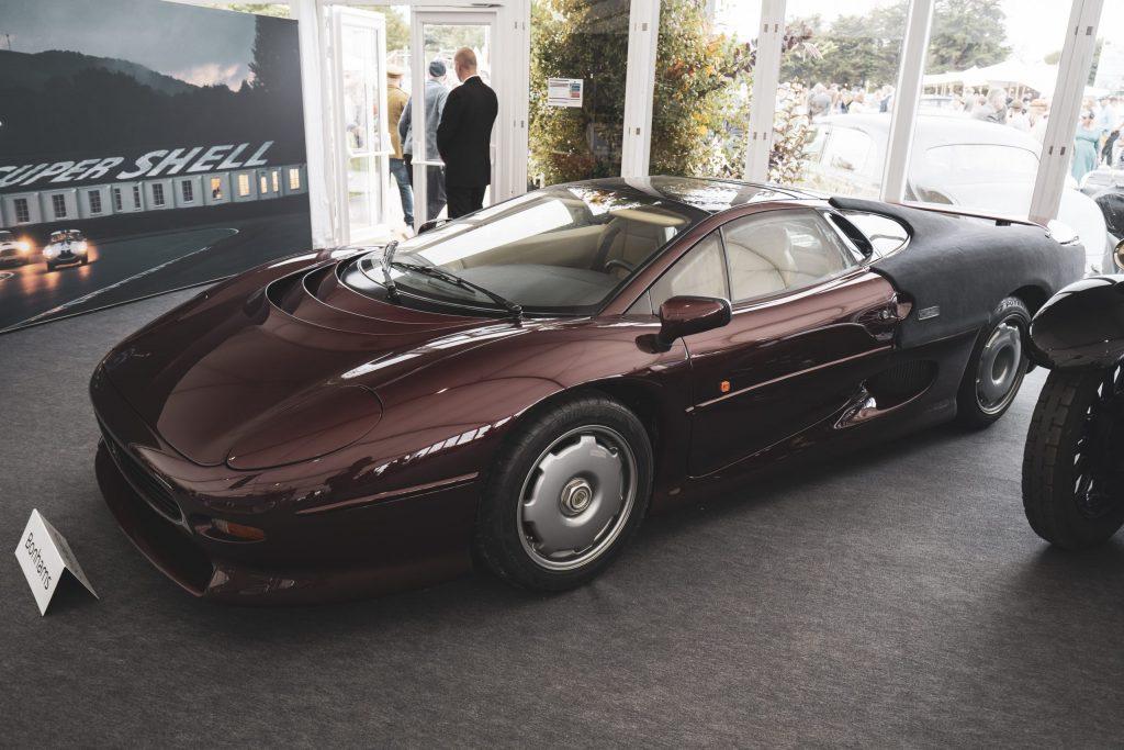 Jaguar XJ220 Bonhams 2021 Goodwood Revival Sale