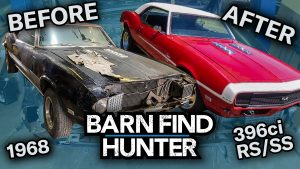 Chevy RS/SS Camaros from Barn Find Hunter get restored   Barn Find Hunter – Ep. 105