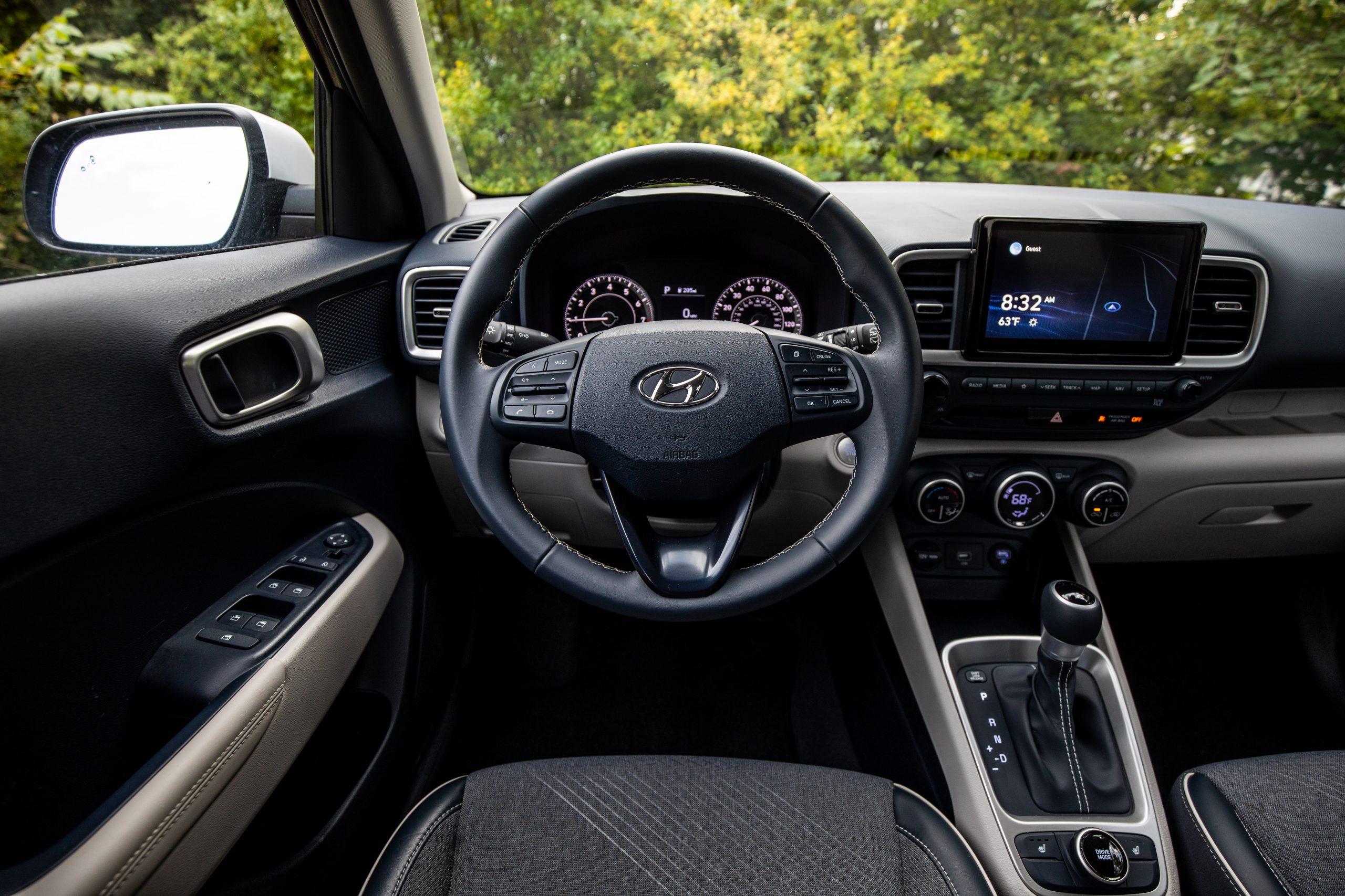 Hyundai Venue denim