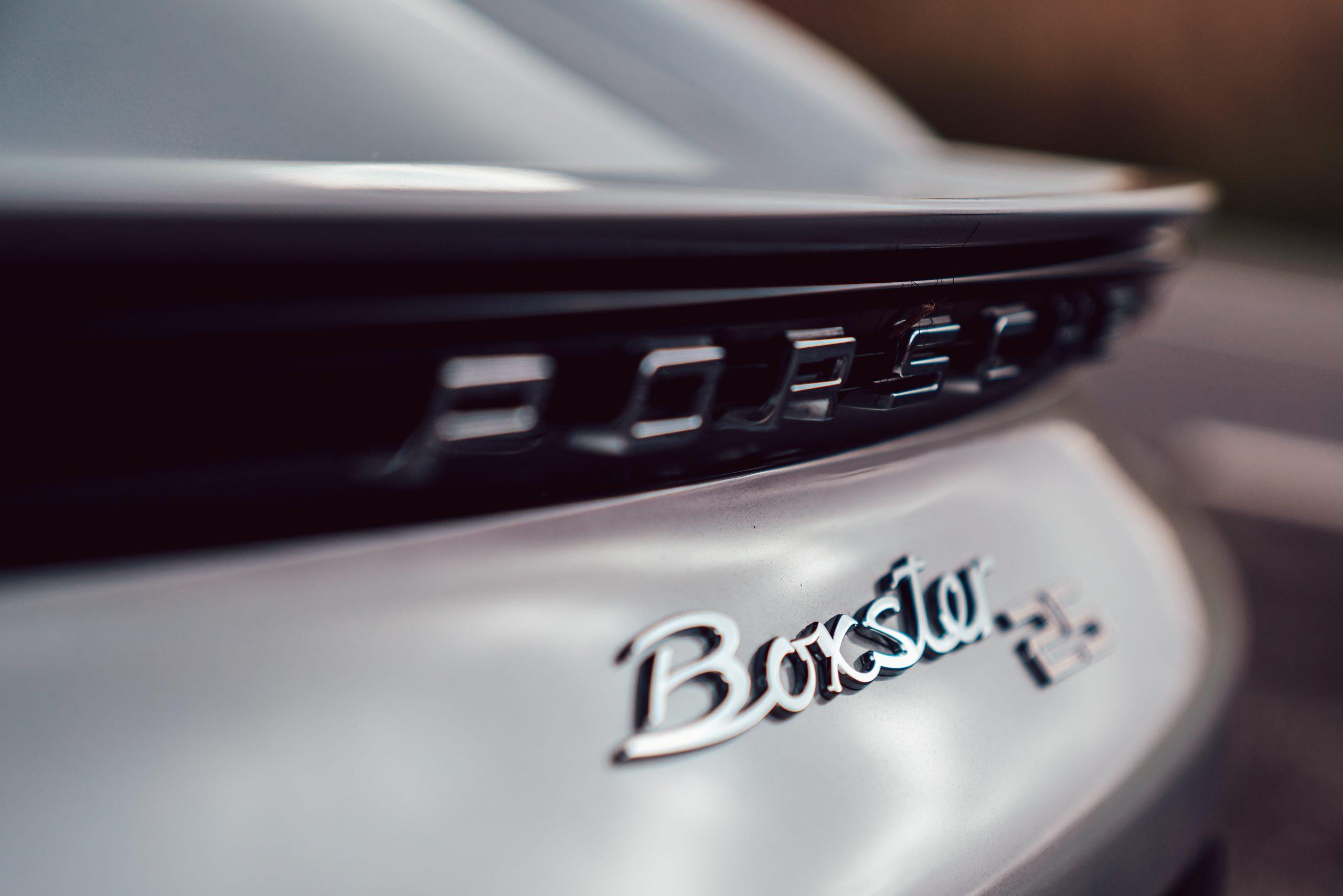 2021 Porsche Boxster 25 Years rear badging