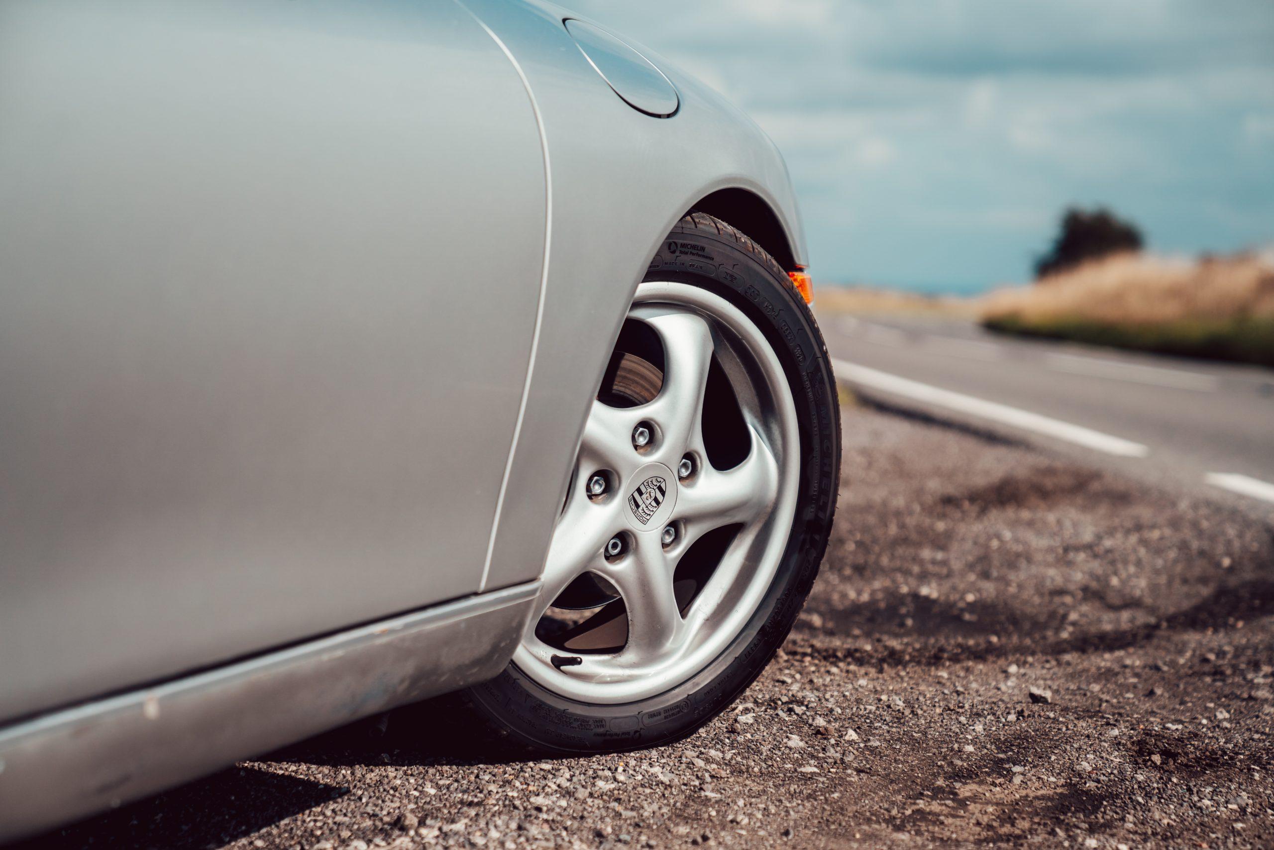 1998 Porsche Boxster 986 wheel and tire