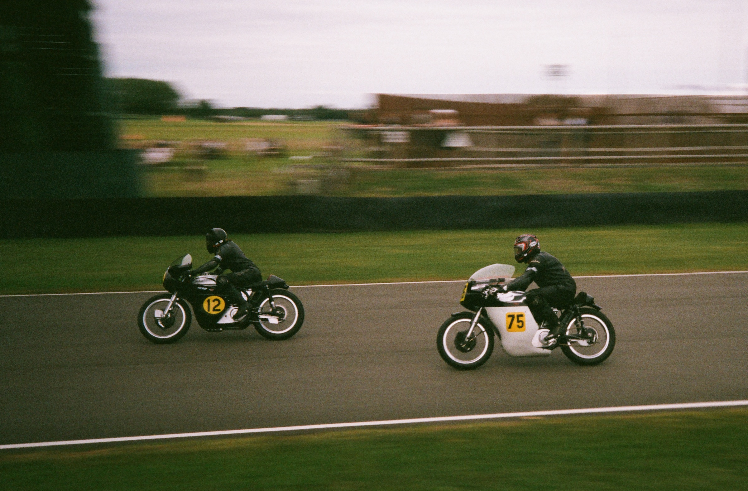 Goodwood Revival film vintage bike races