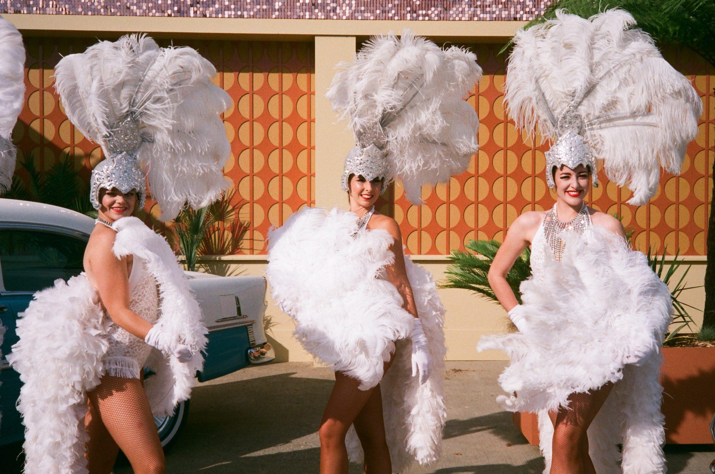 Goodwood Revival film dancers