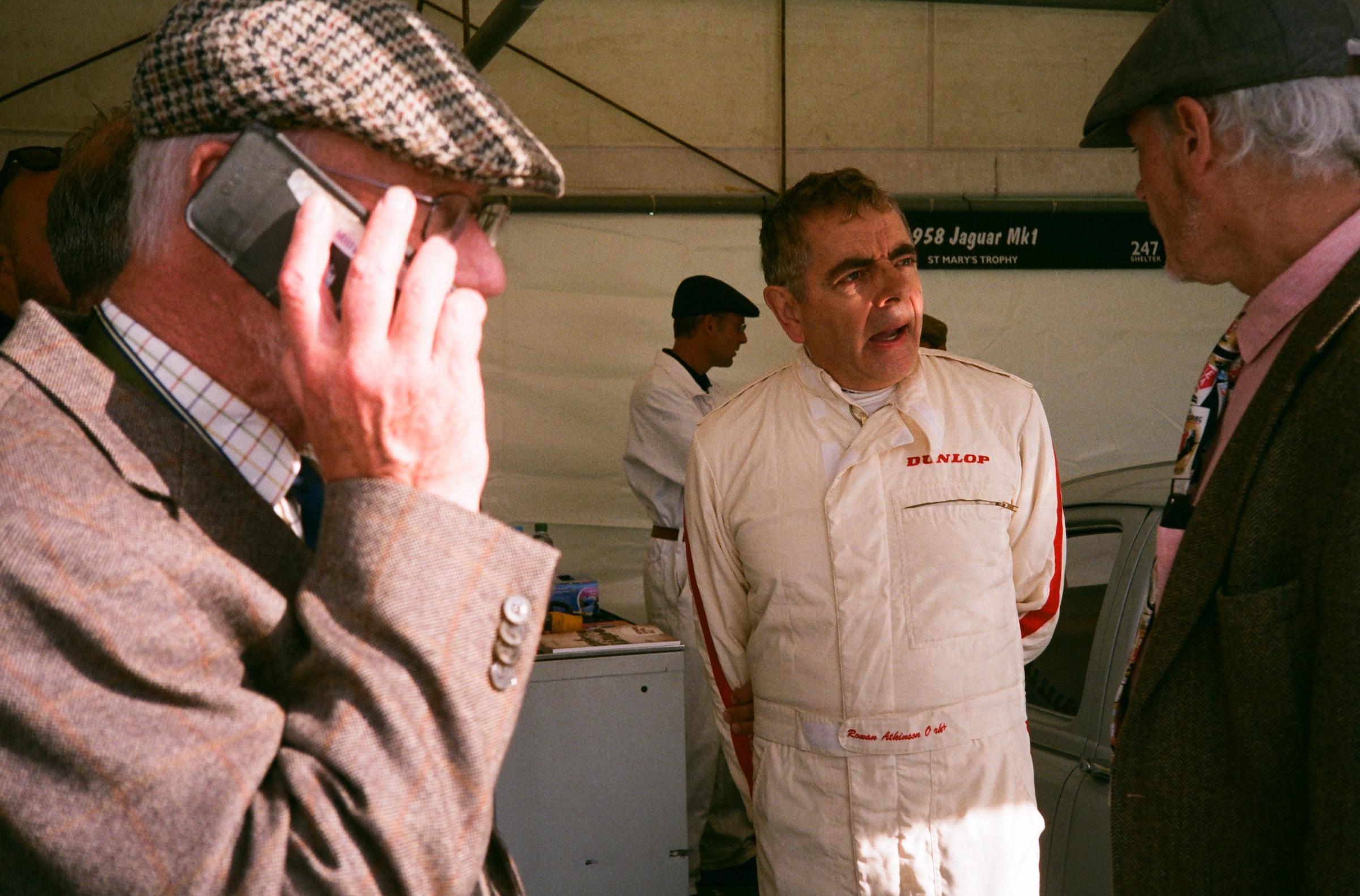 Goodwood Revival film celebrity racer
