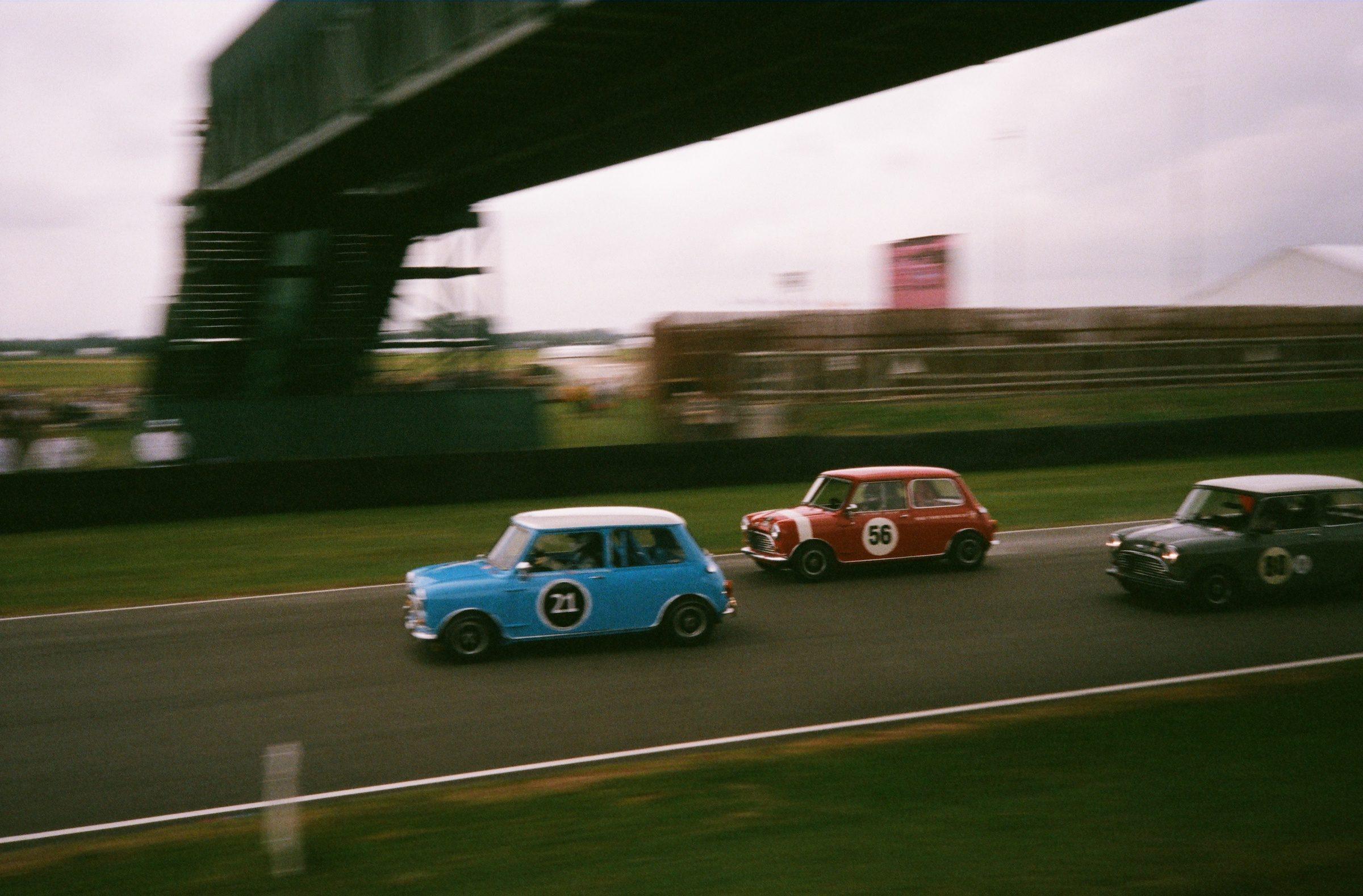 Goodwood Revival film mini racing action