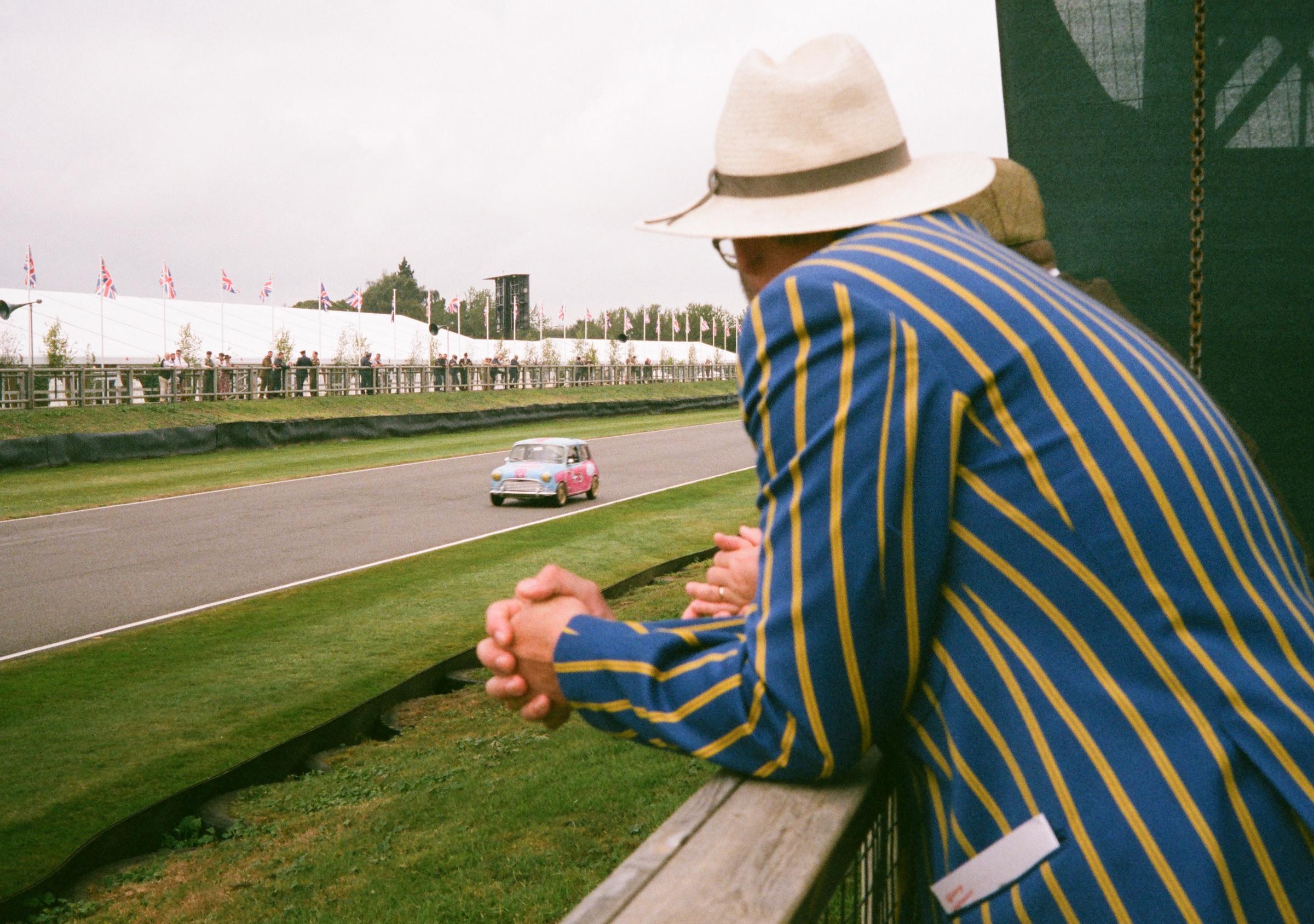 Goodwood Revival film spectating races