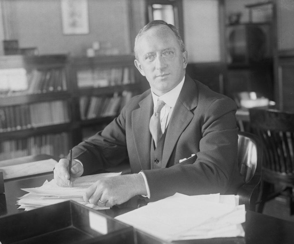 Chief Engineer Clifford Milburn Holland portrait