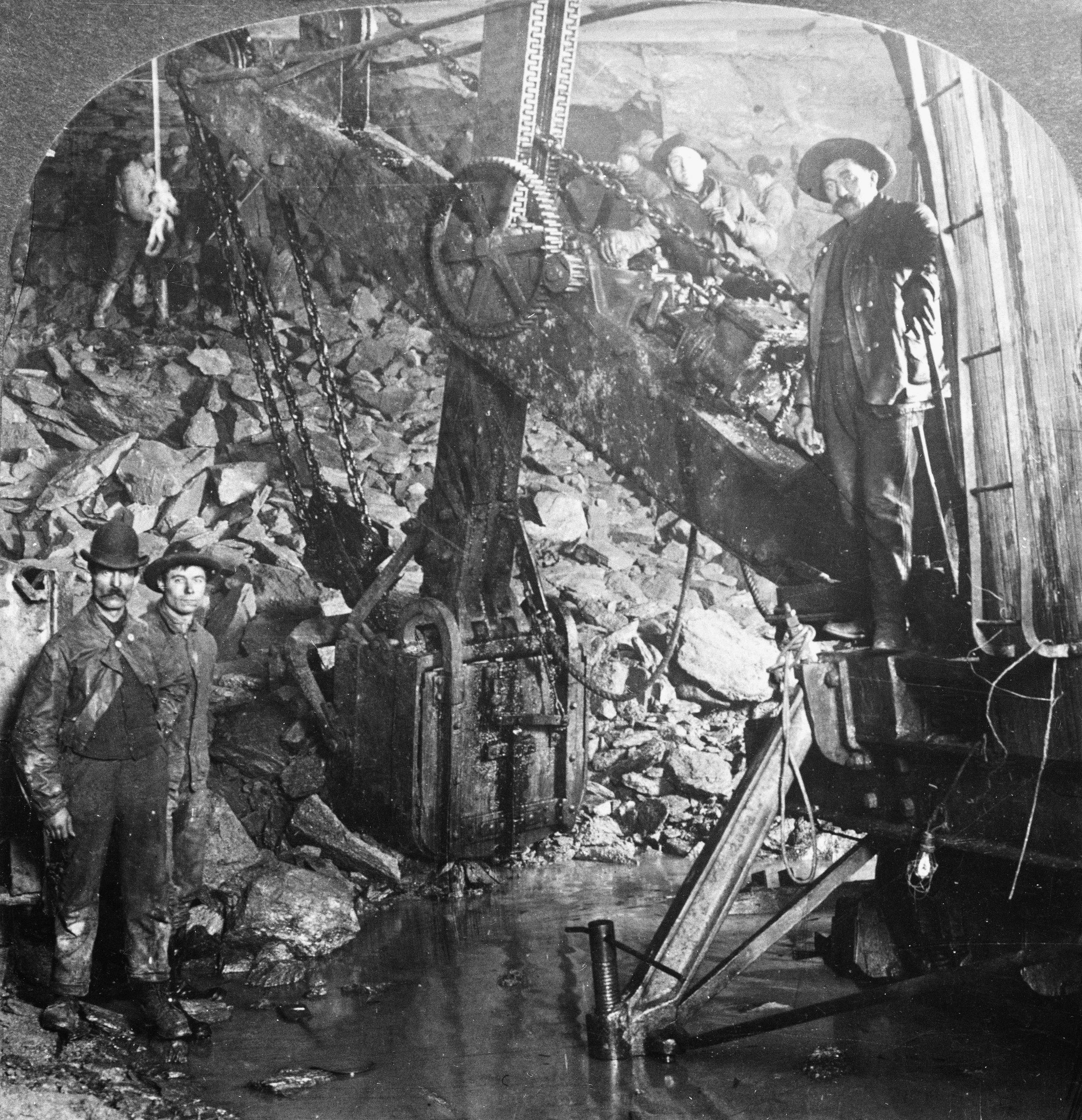 Construction Workers in the Holland Tunnel