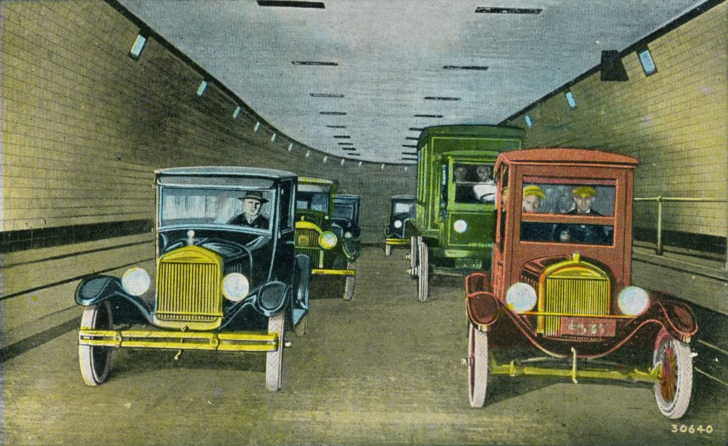 Old Holland Tunnel Postcard