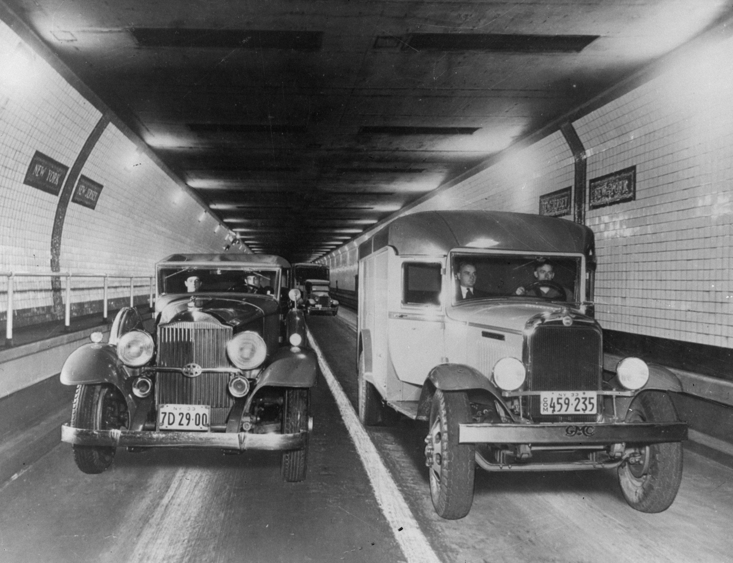Holland Tunnel Traffic