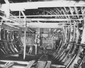 Holland Tunnel under construction - 1923