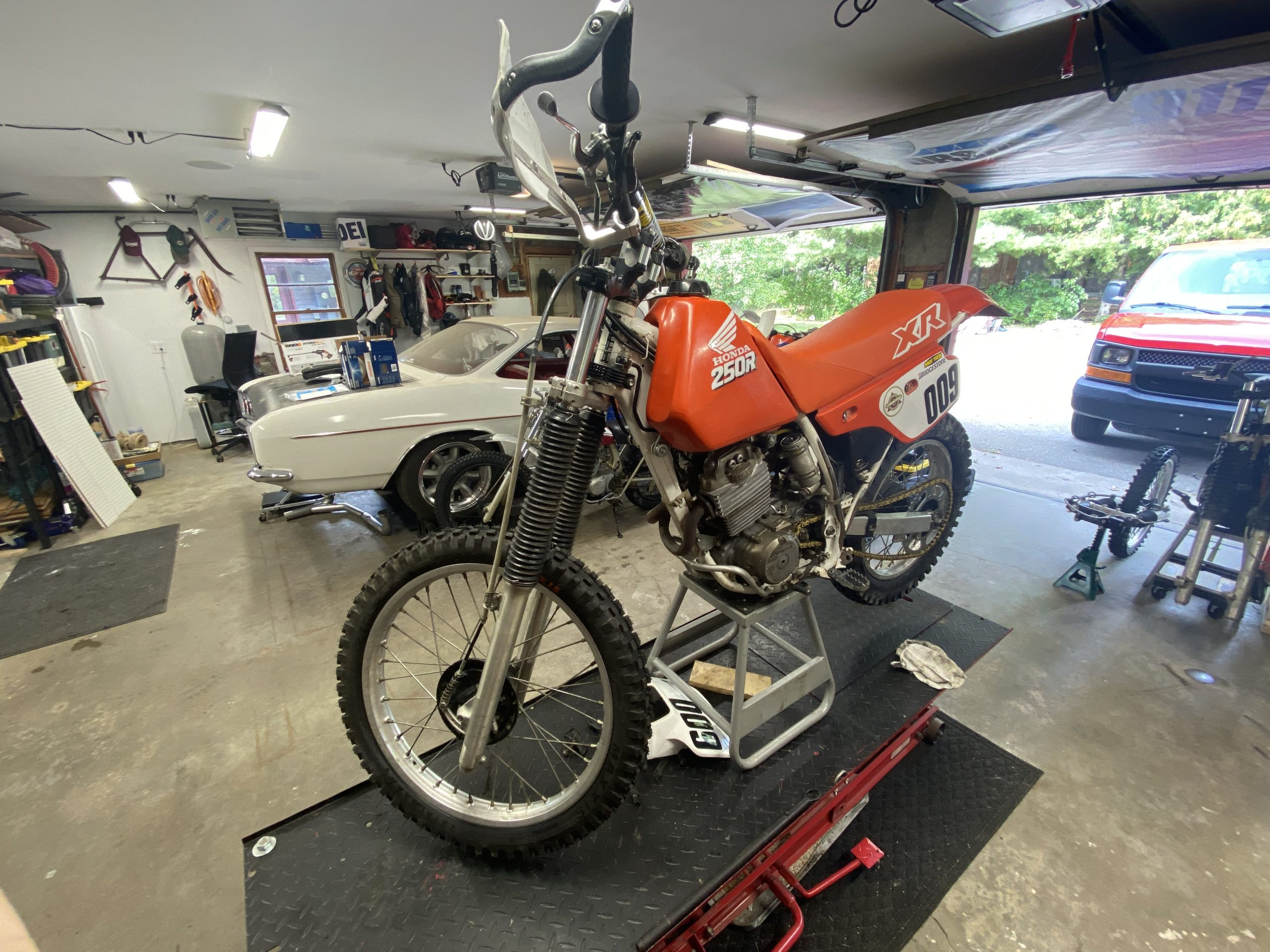 XR250 with XR200 front end