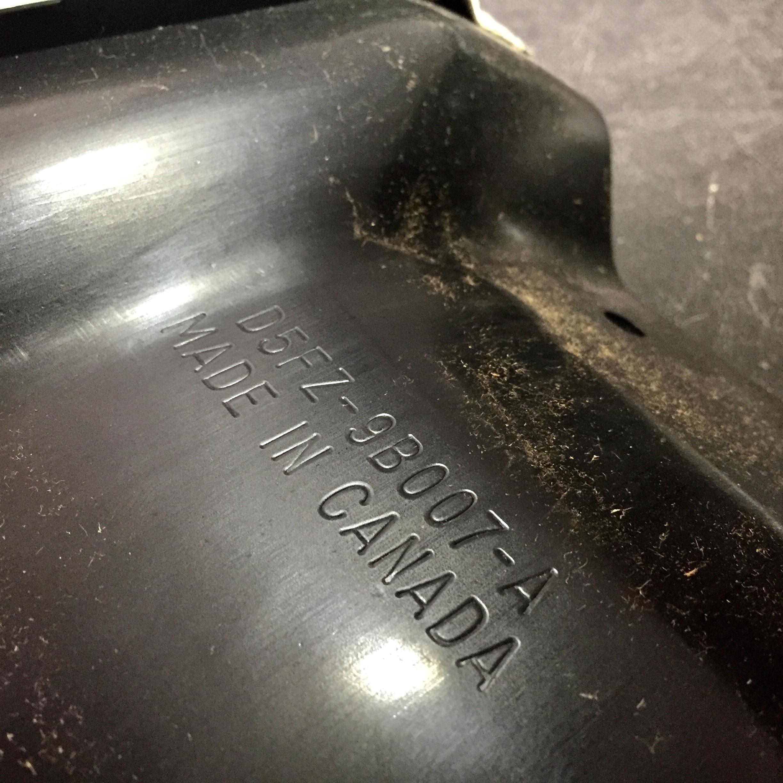 Ford Pinto Repair Kit Recall Gas tank
