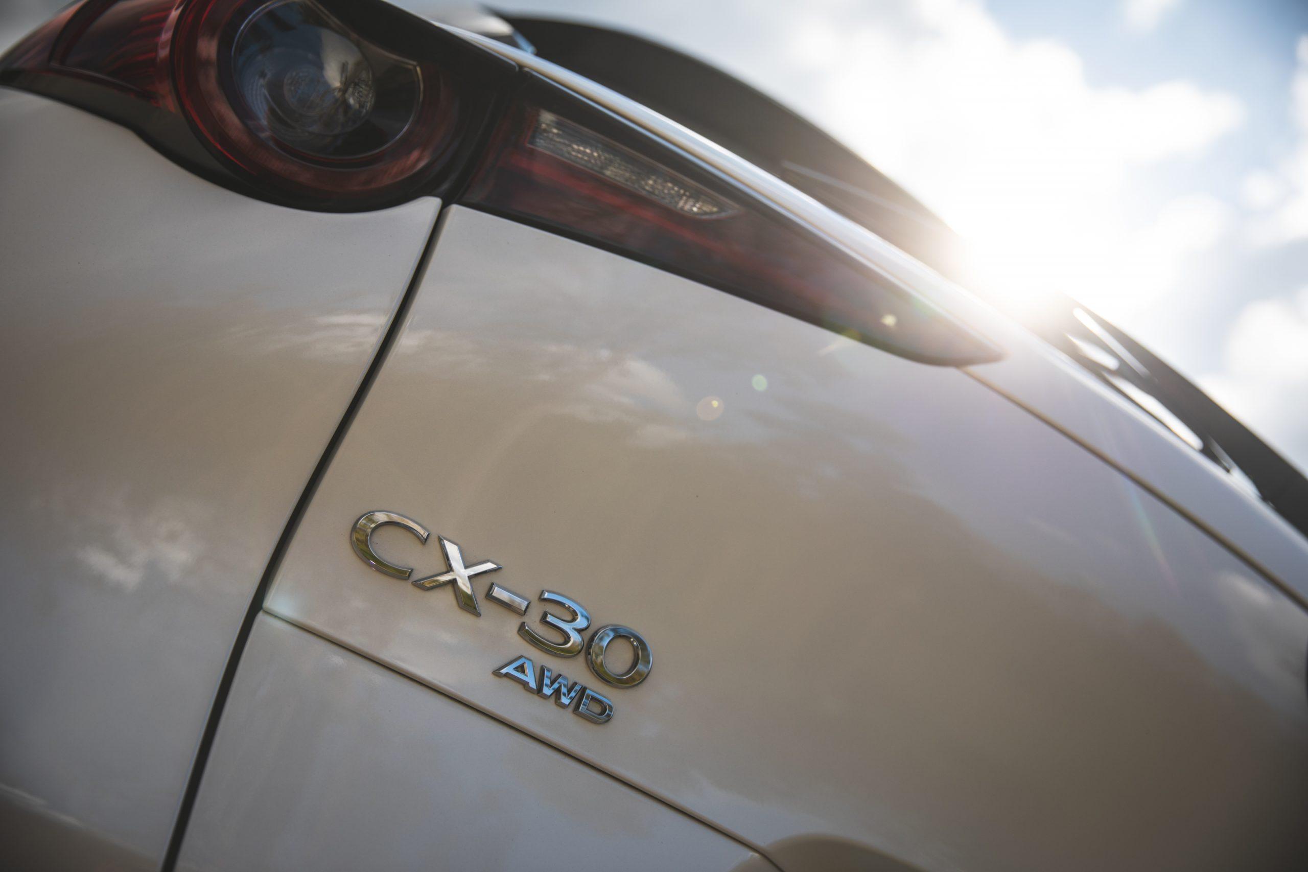 Mazda CX30 badging