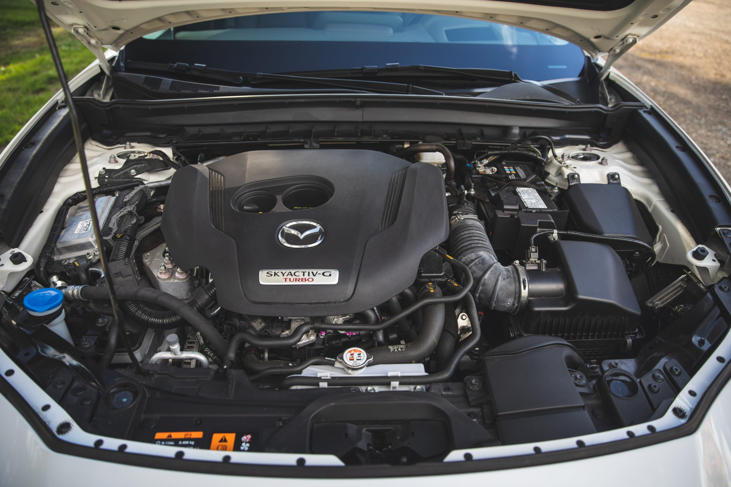 Mazda CX30 engine bay