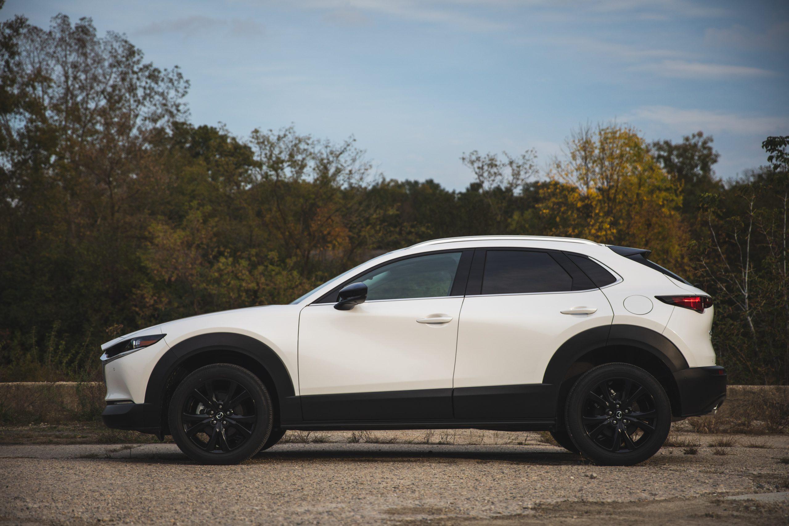 Mazda CX30 side profile