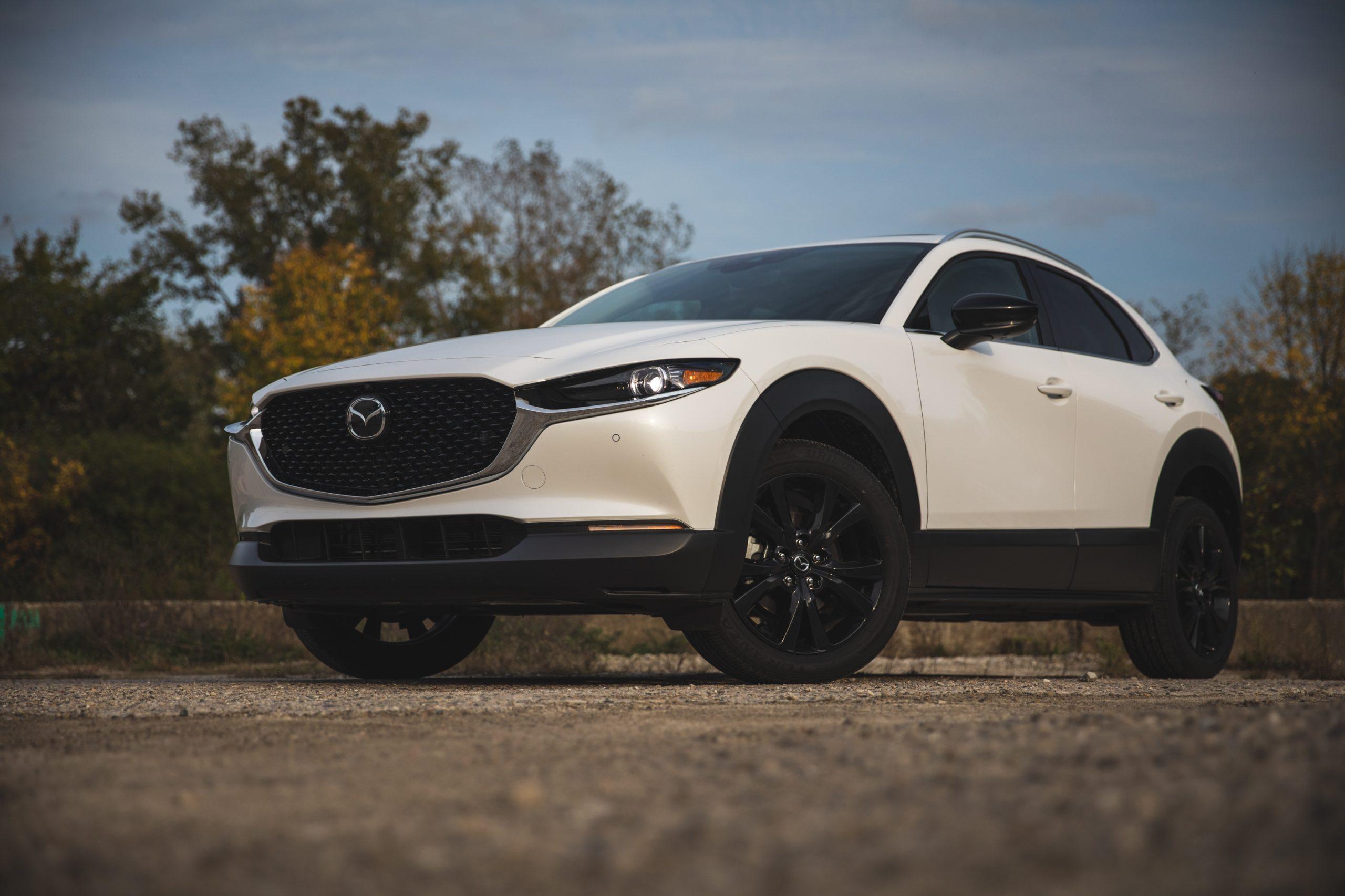 Mazda CX30 front three-quarter