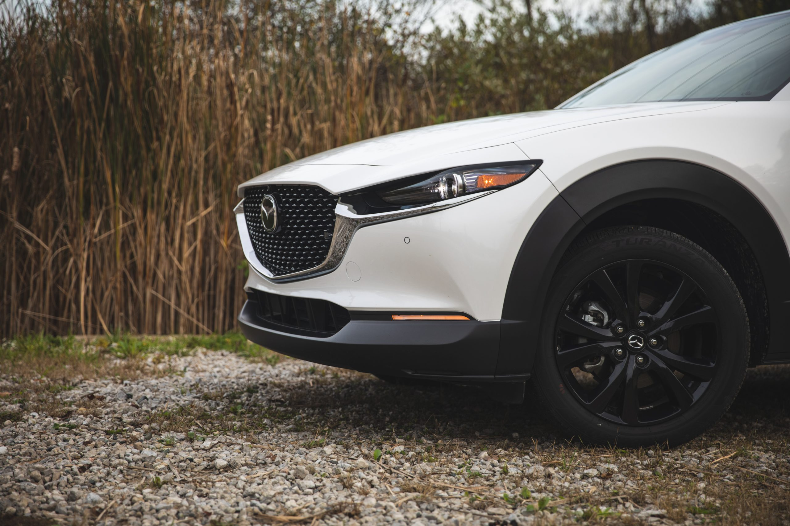 Mazda CX30 front end