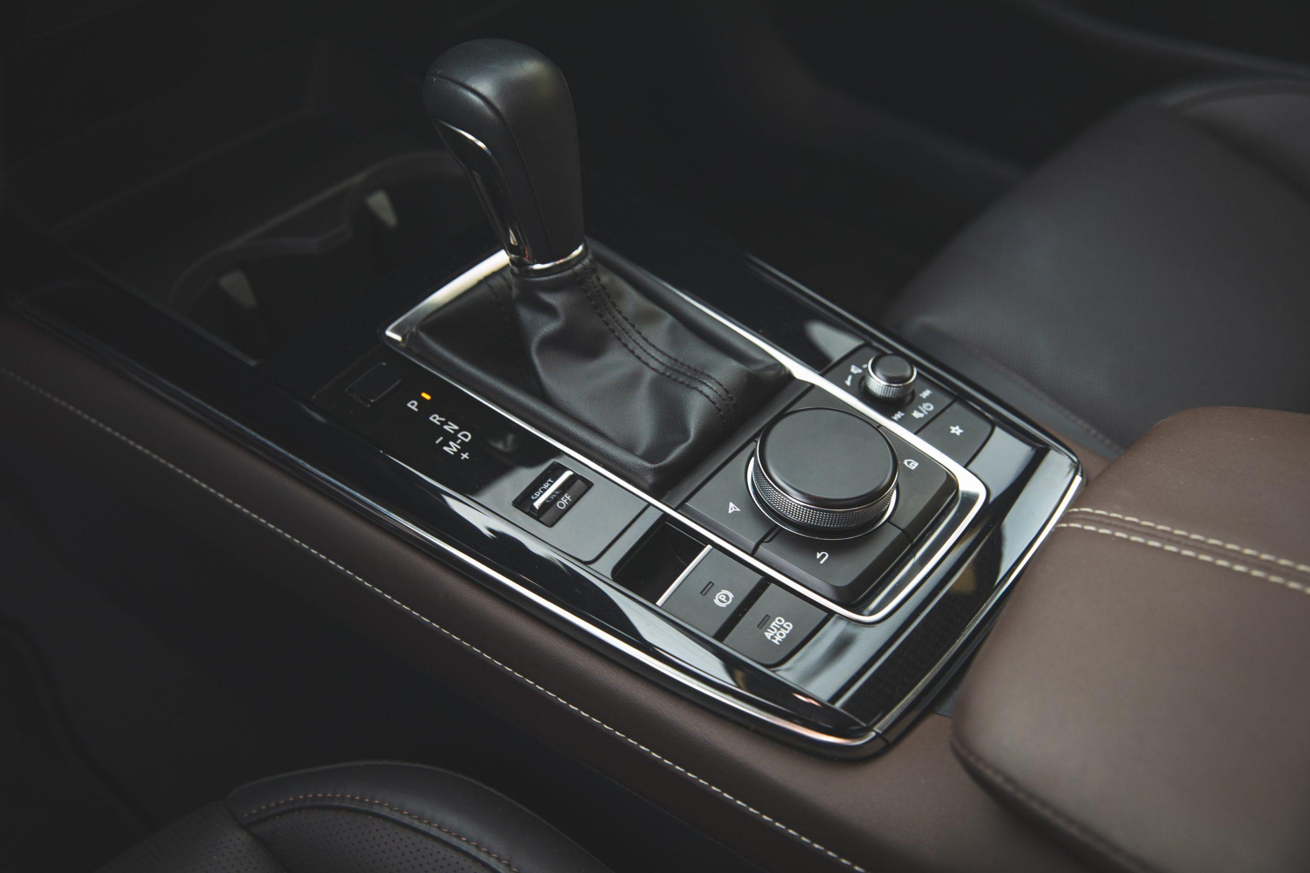 Mazda CX30 interior center console