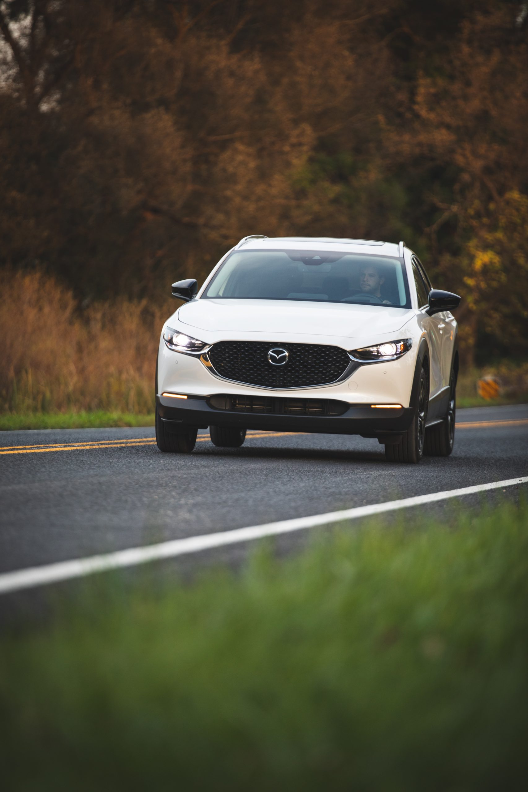 Mazda CX30 front vertical