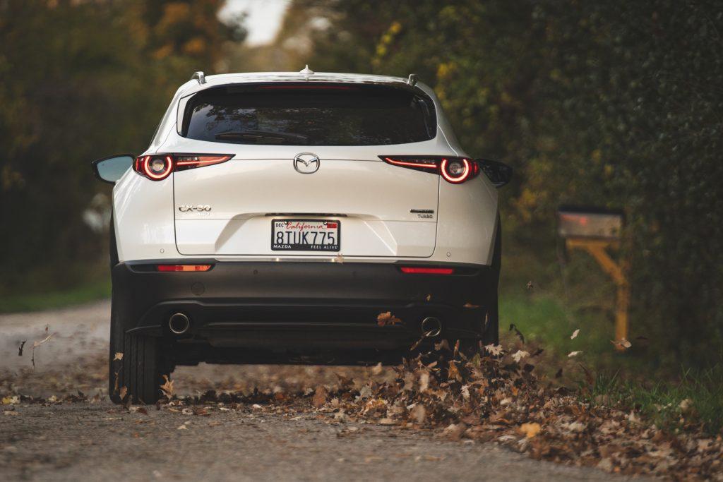 Mazda CX30 rear action