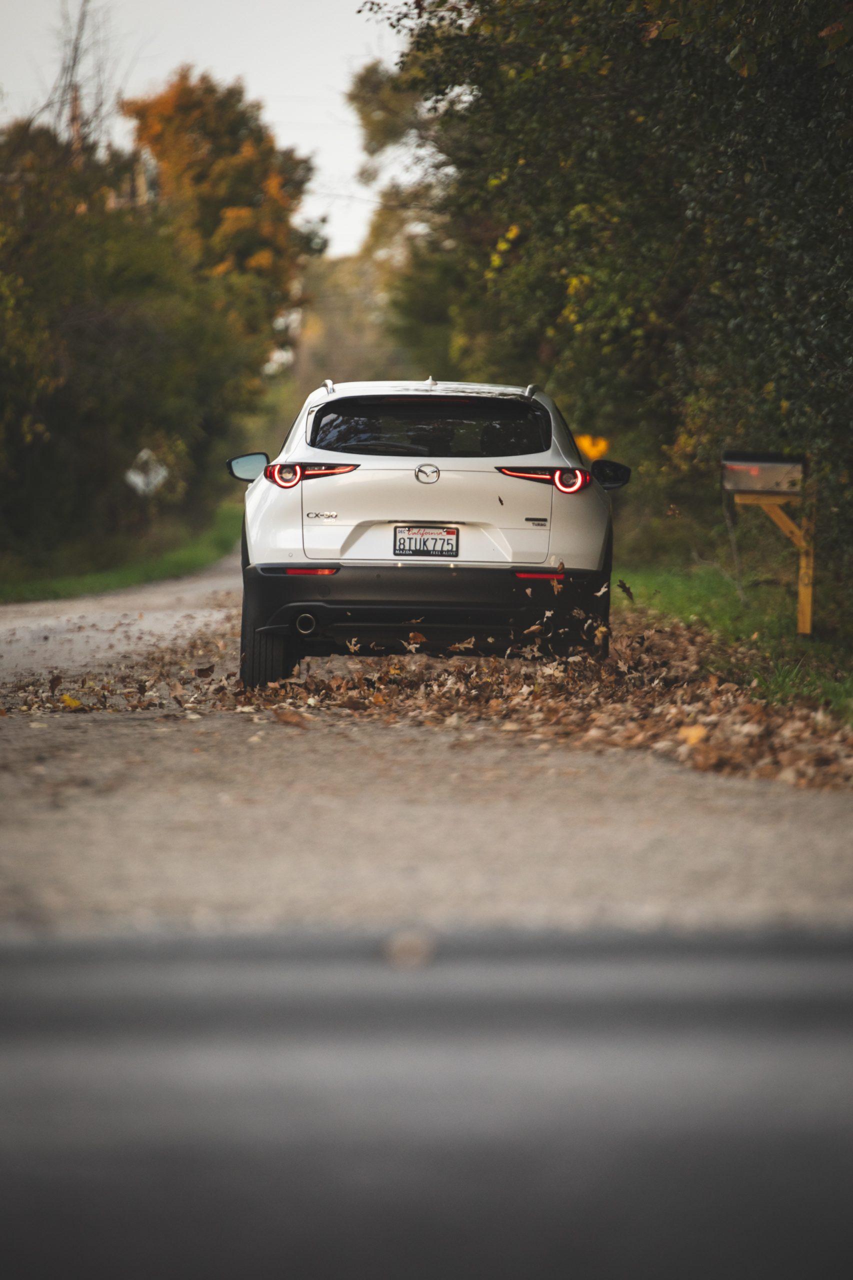 Mazda CX30 rear vertical action