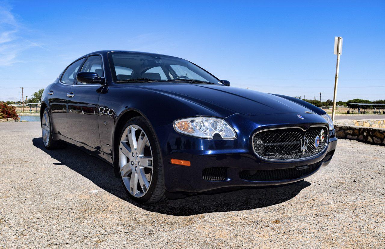 Maserati Quattroporte front three-quarter