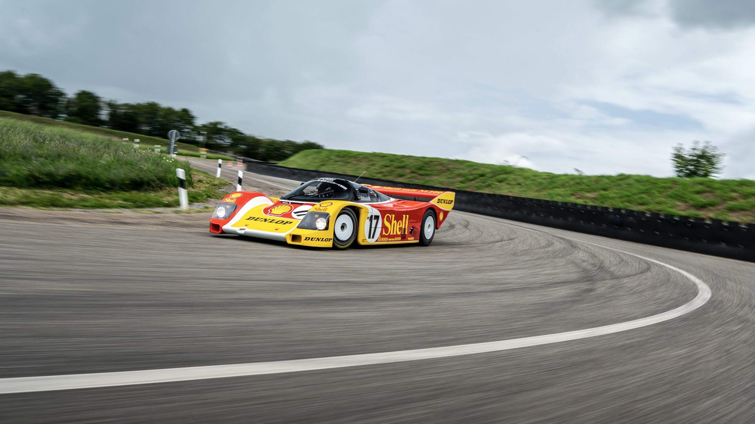 After 35 years, Porsche's factory-restored 962 C meets its original driver for a trackside reunion