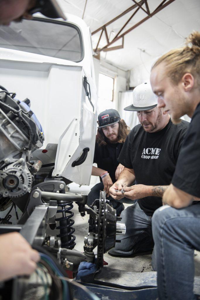 colorado restoration program brakes detail