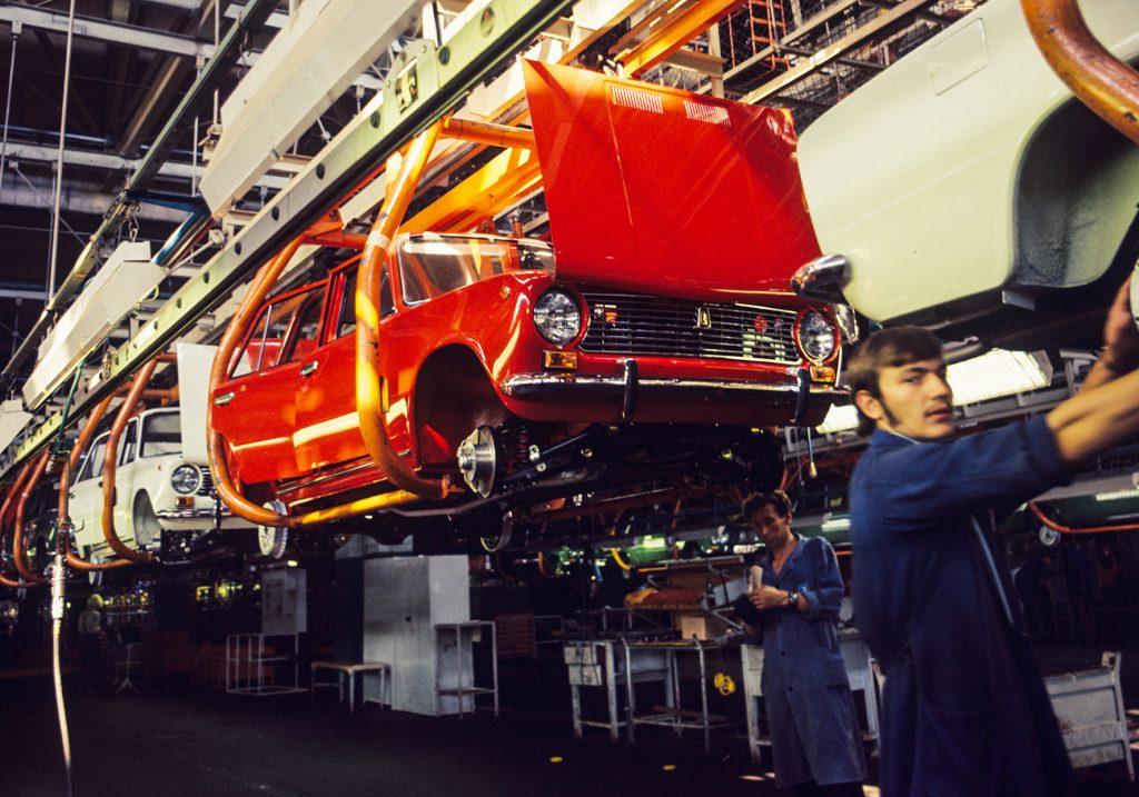 VAZ Togliatti Lada assembly line