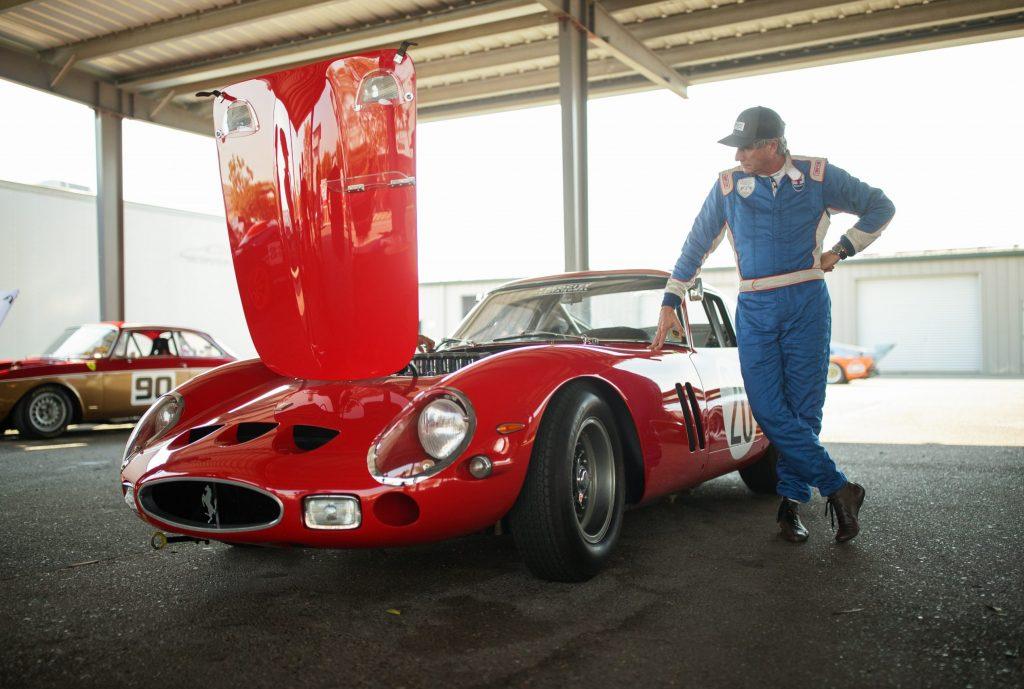 Thunderhill Ferrari hood open front