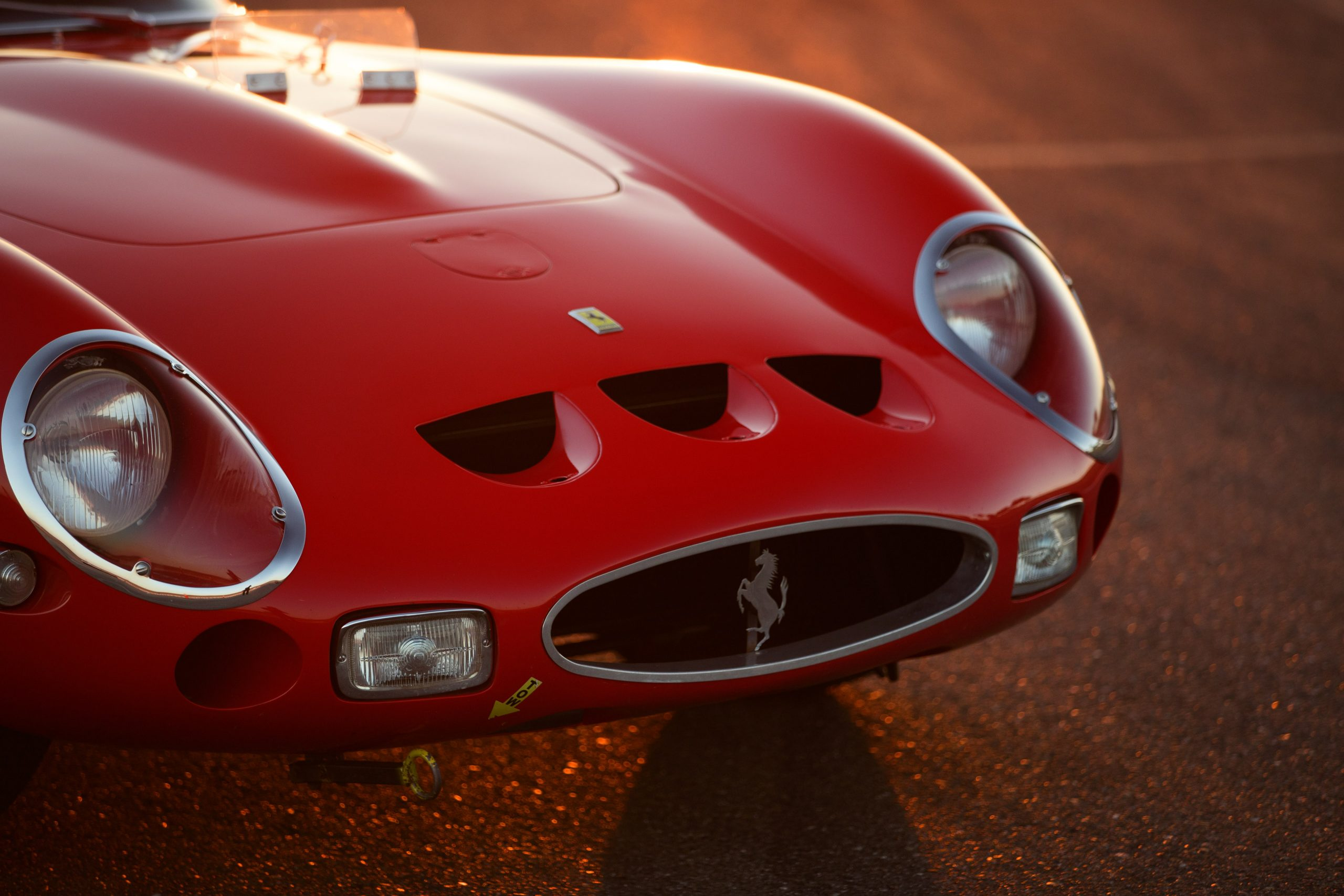 Thunderhill Ferrari front end detail