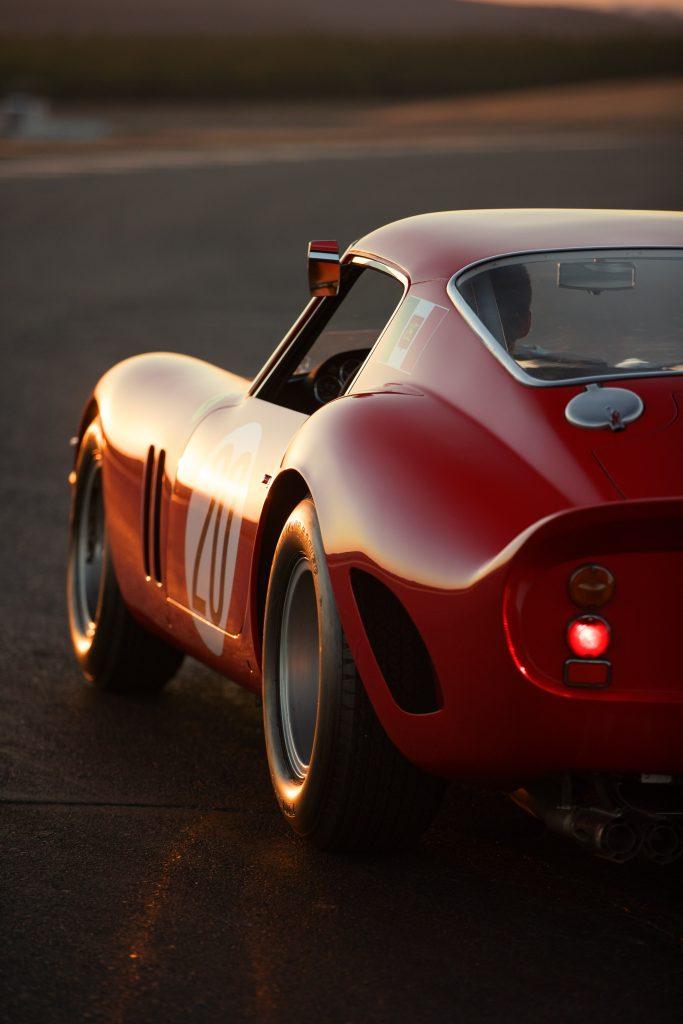 Thunderhill Ferrari side curve haunches