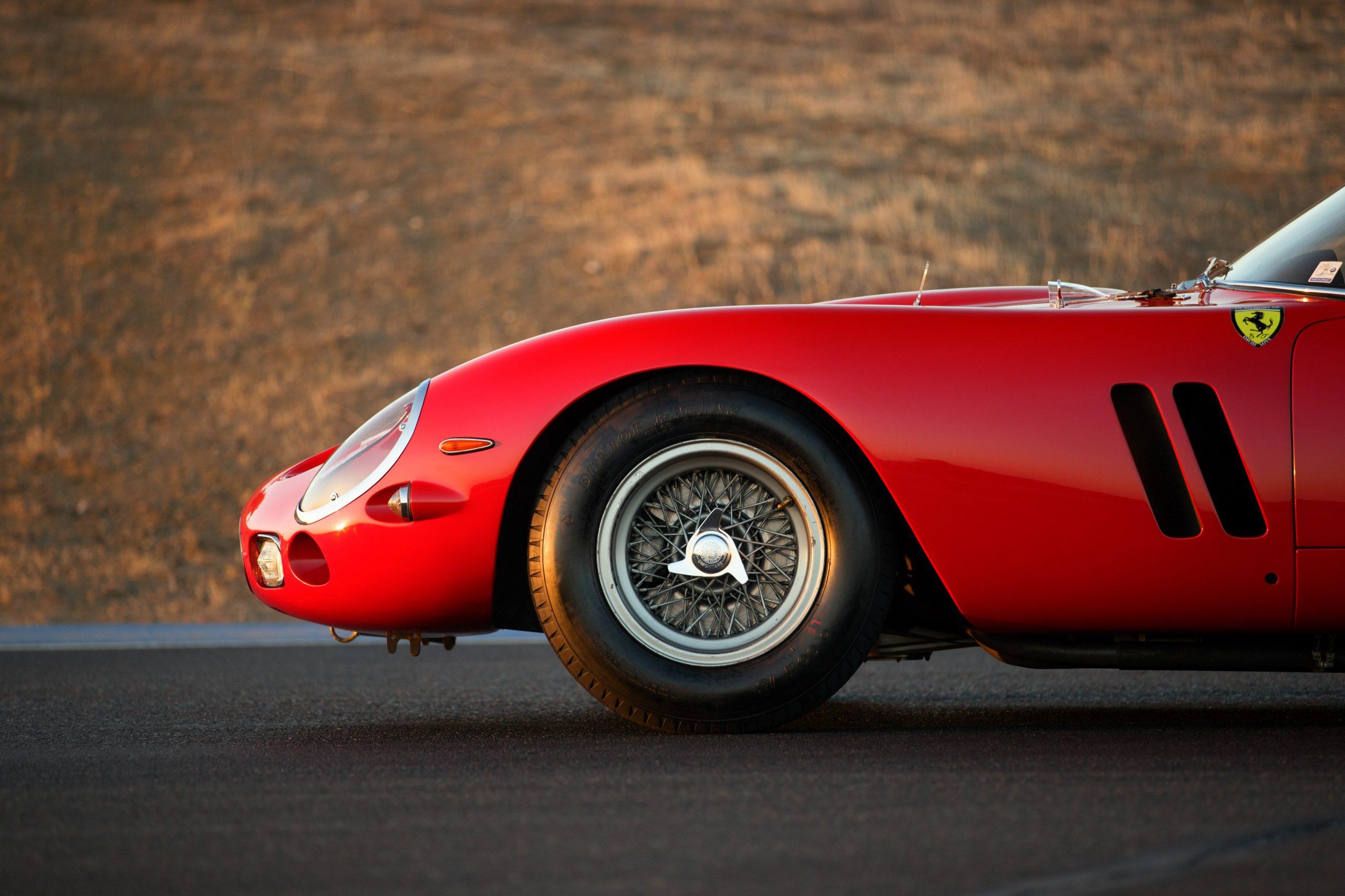 Thunderhill Ferrari front side profile