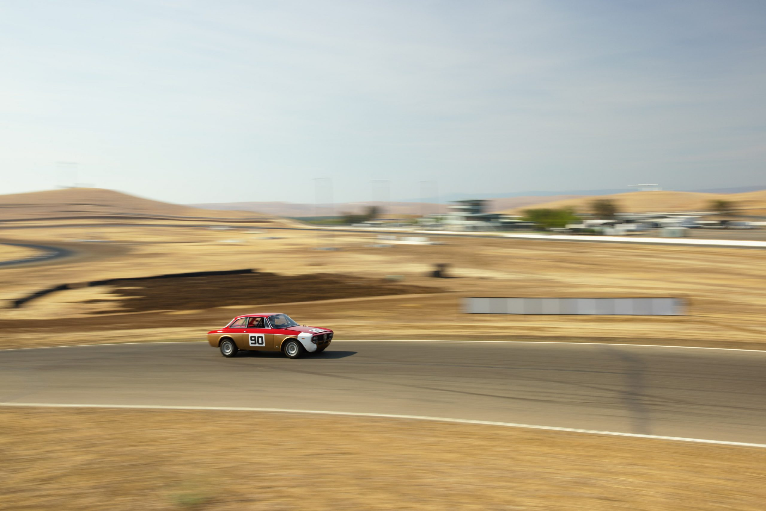 Thunderhill track action