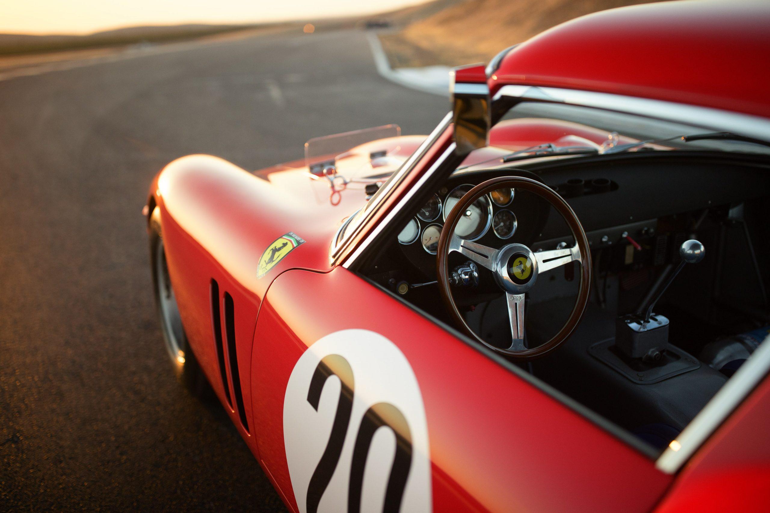 Thunderhill Ferrari body cockpit