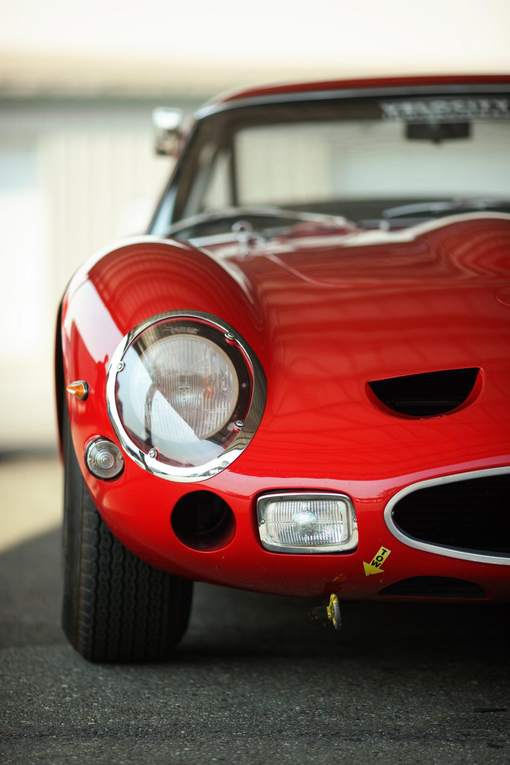 Thunderhill Ferrari front half split