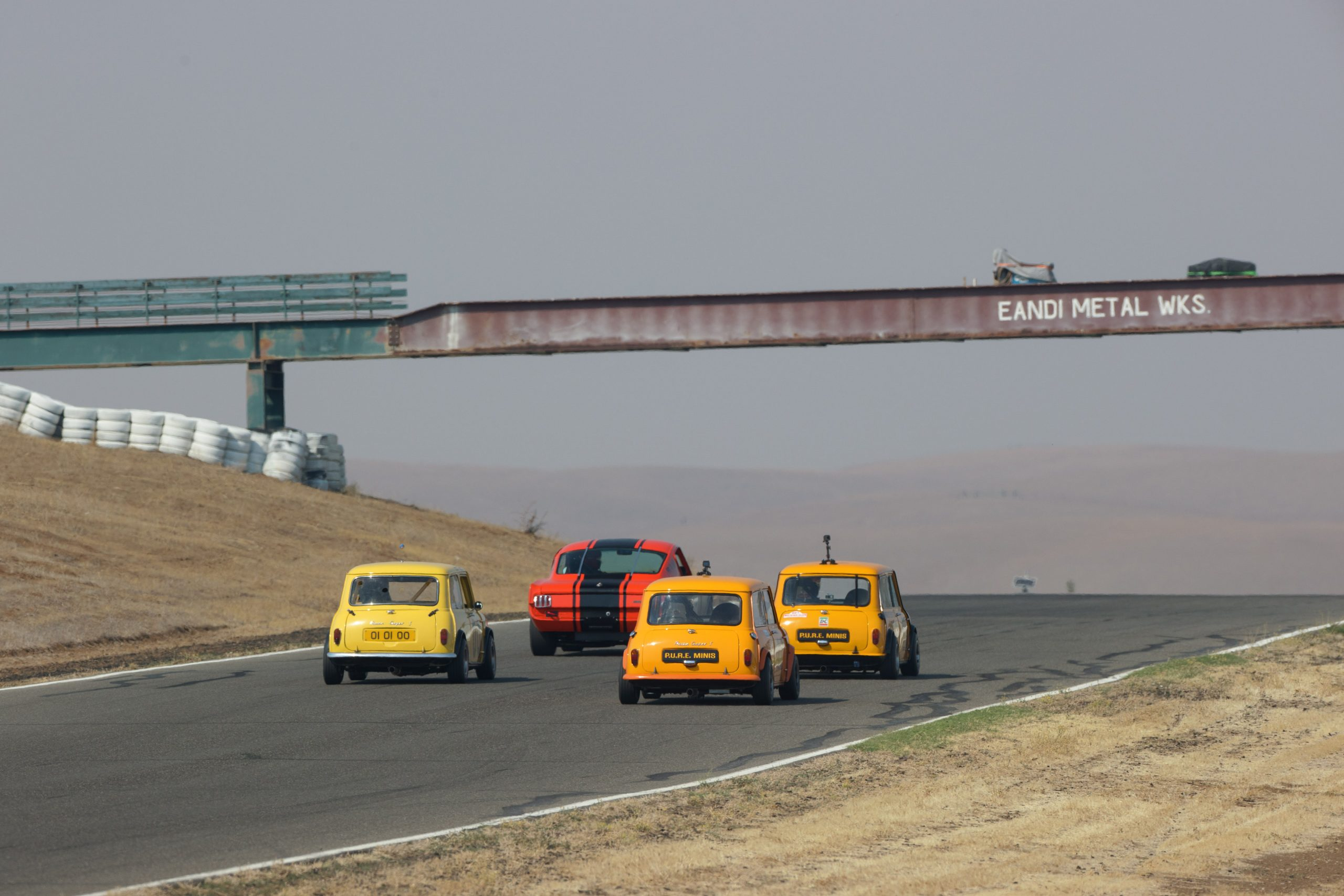 Thunderhill group track action