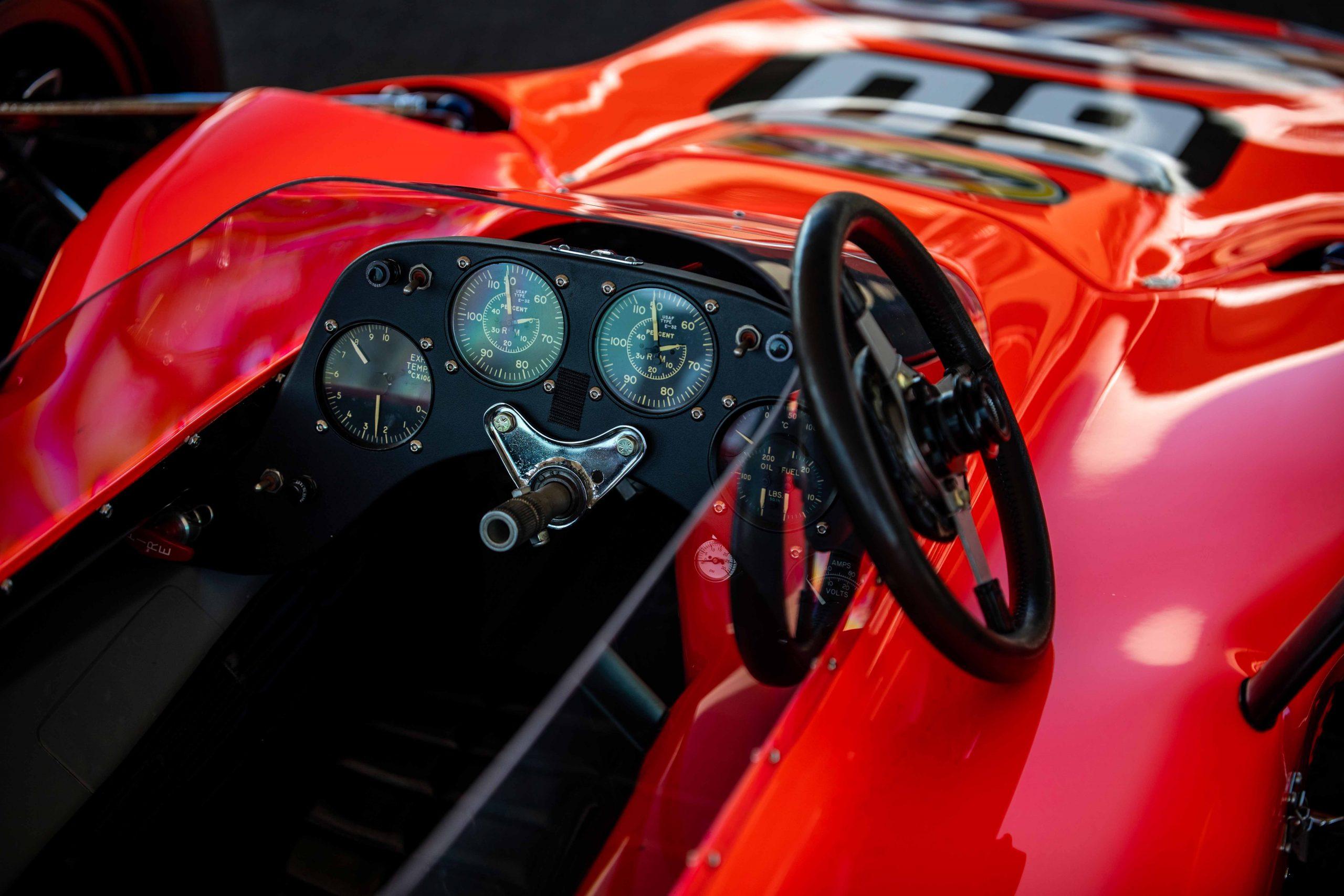 STP Turbine Lotus 56 vintage IndyCar American Speed Festival 2021