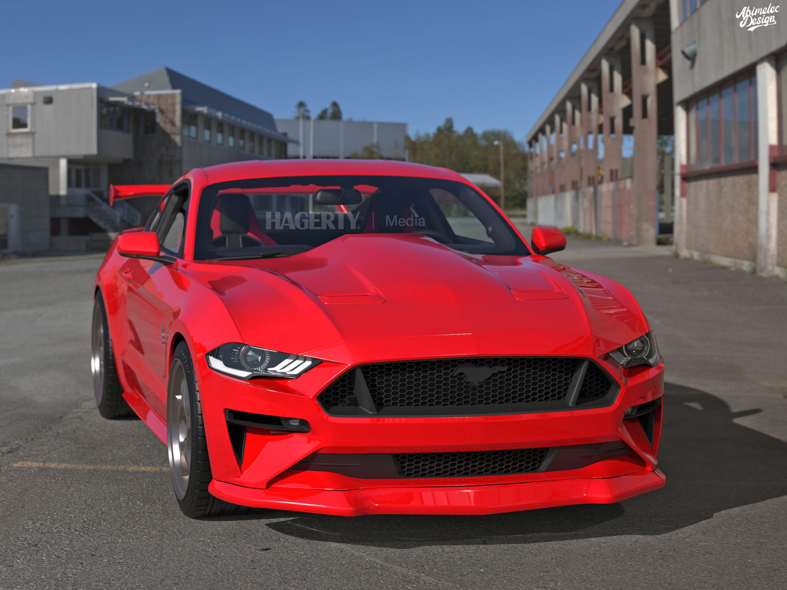 What If 21 Cobra R red front