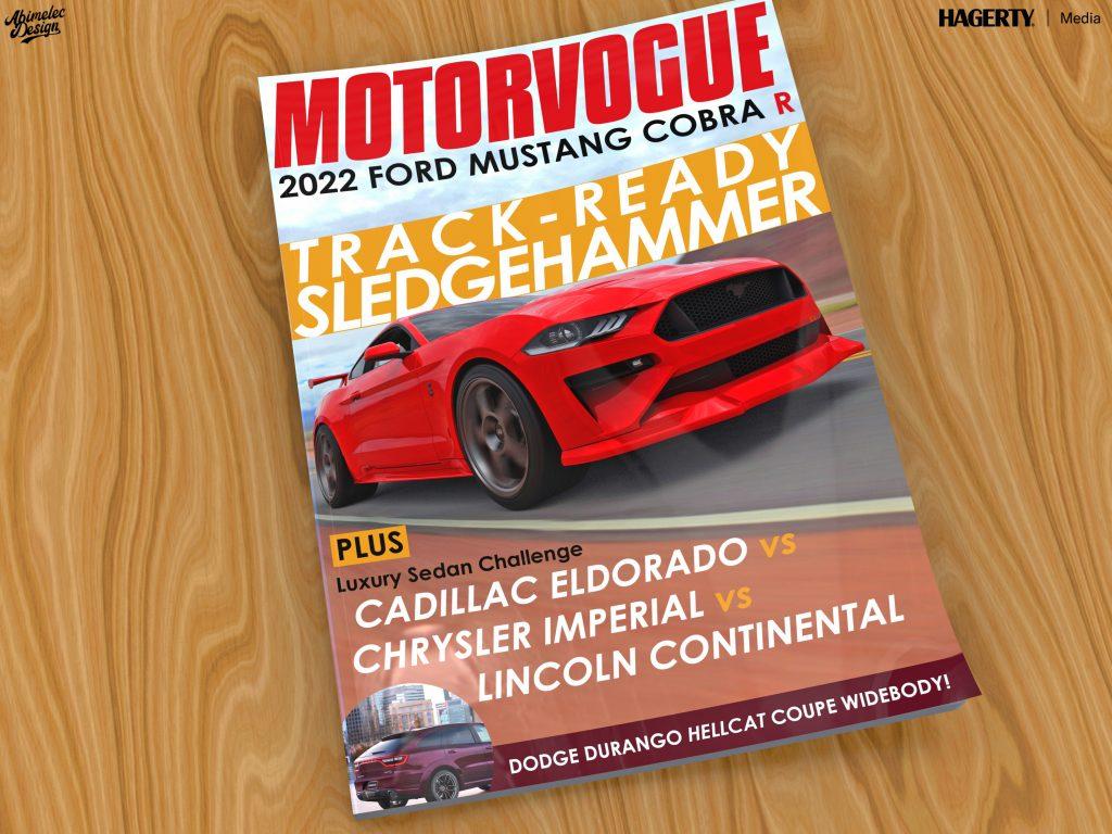 What_If_Mustang Cobra R magazine