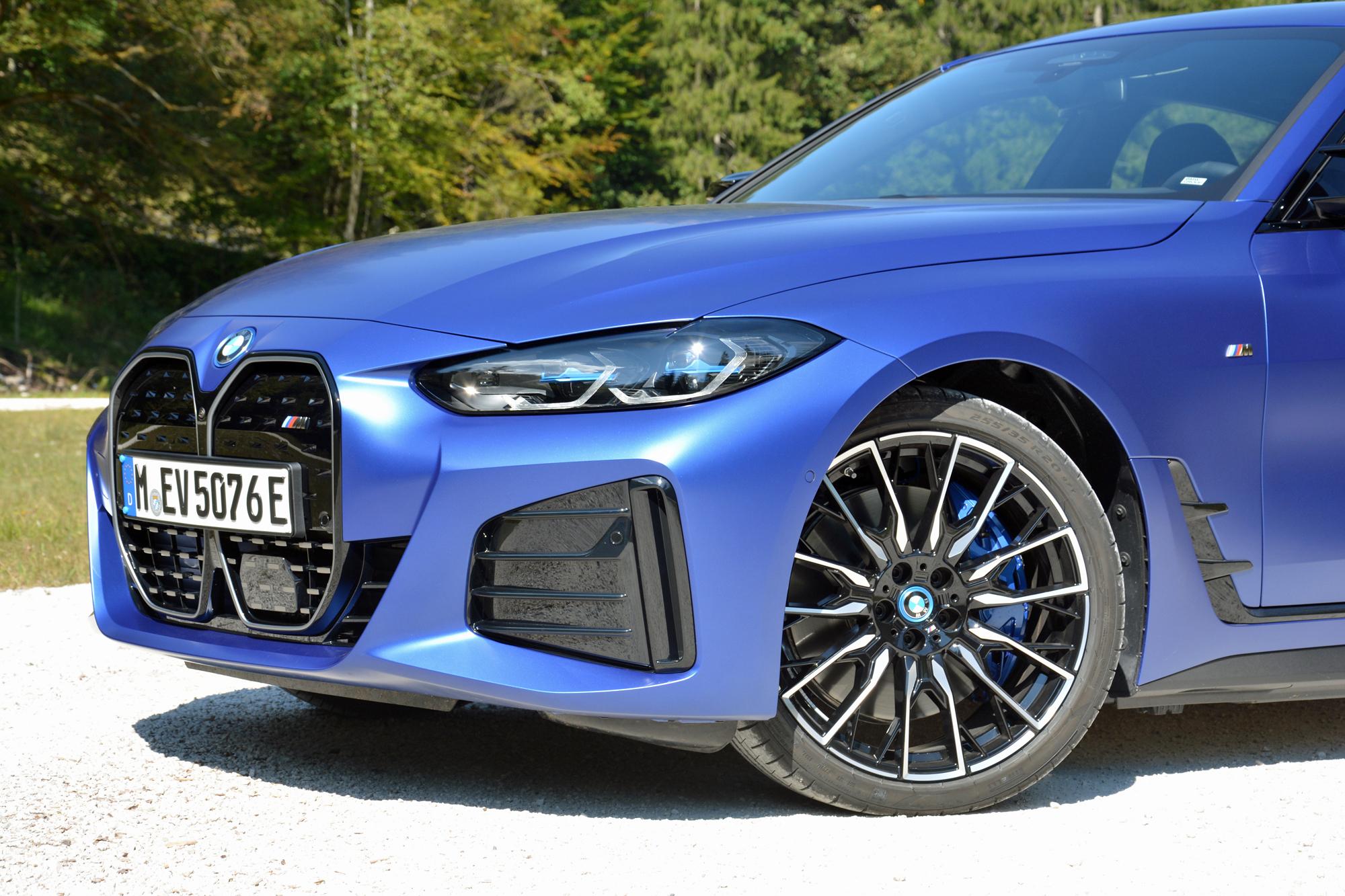 2022 BMW i4 M50 front end